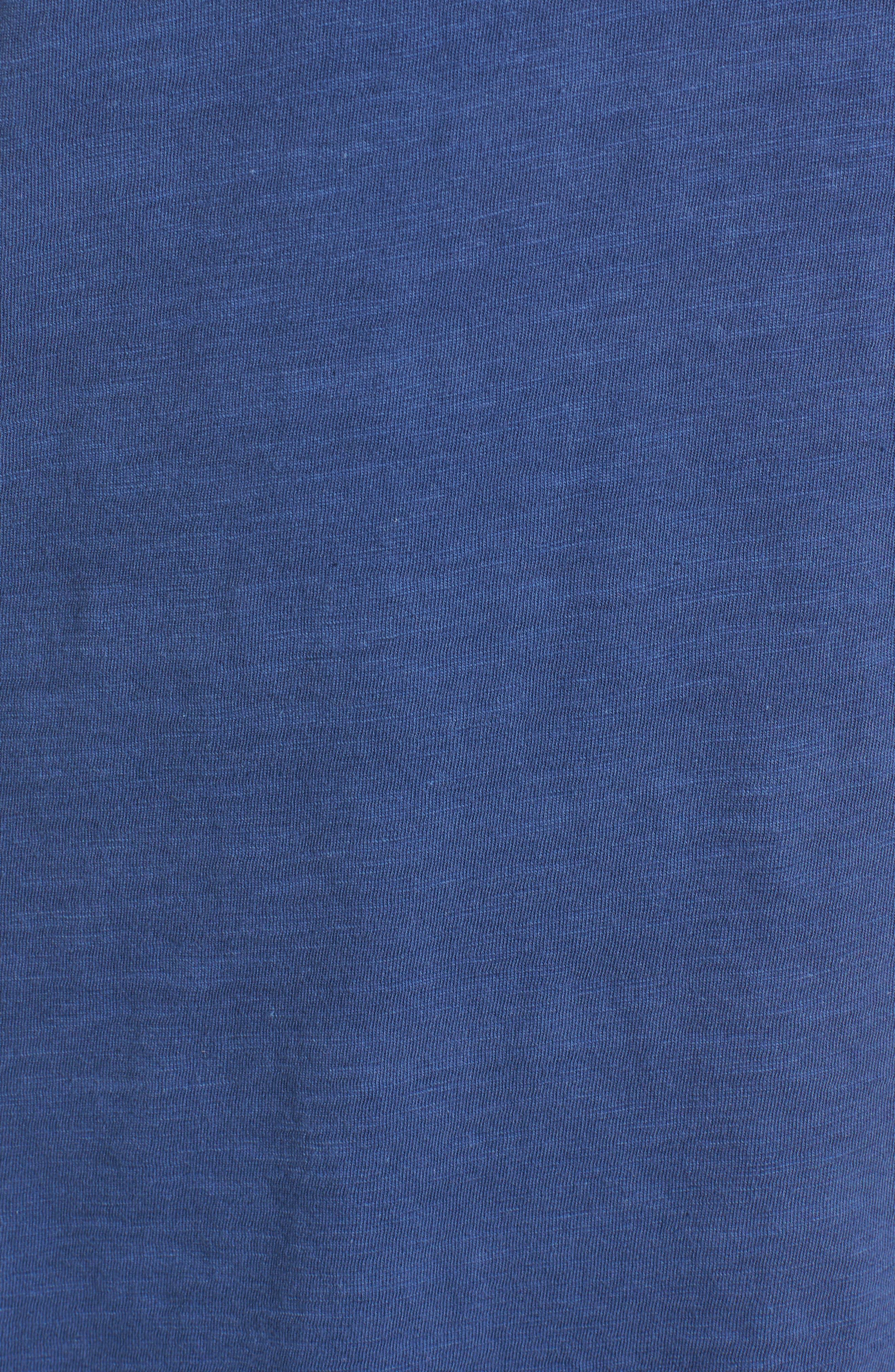 Organic Cotton V-Neck Tee,                             Alternate thumbnail 90, color,