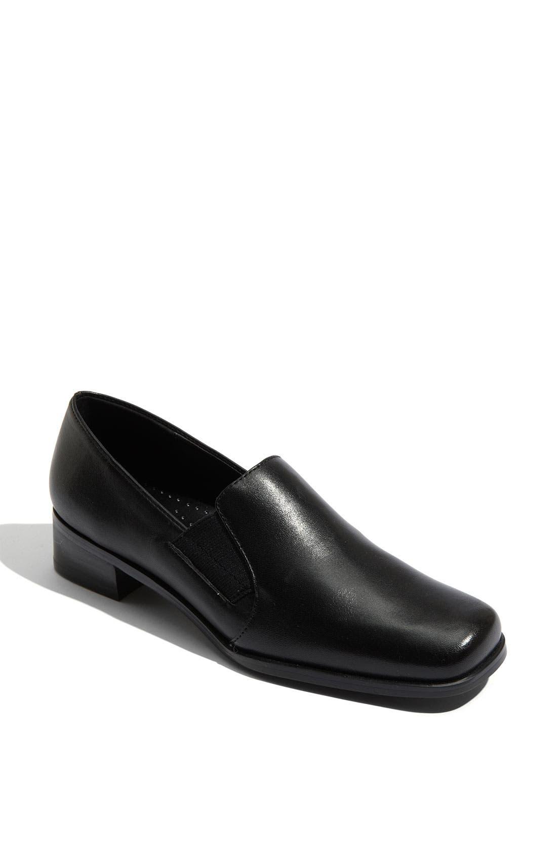 'Ash' Slip-On,                         Main,                         color, BLACK