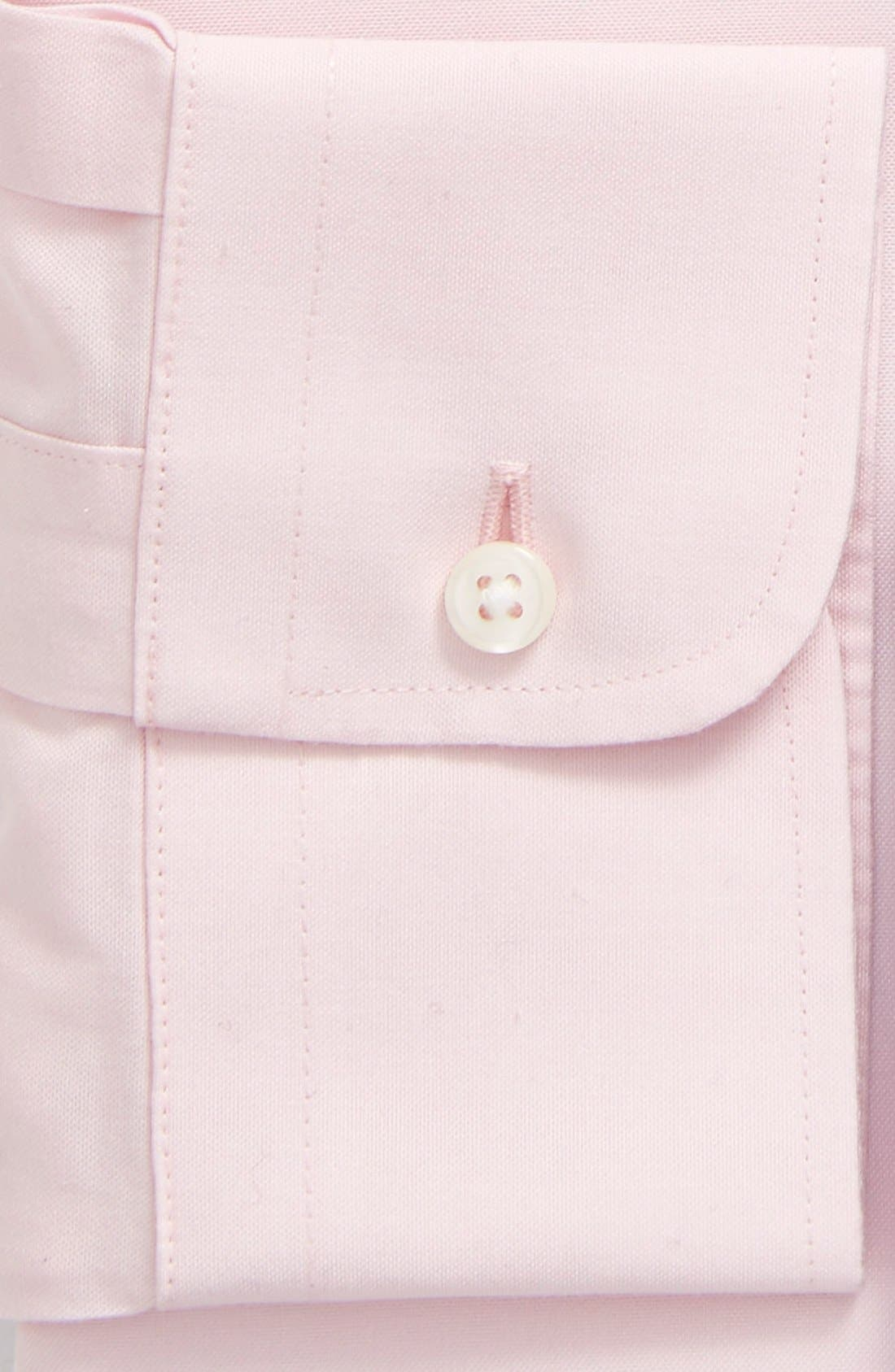 Smartcare<sup>™</sup> Traditional Fit Pinpoint Dress Shirt,                             Alternate thumbnail 84, color,