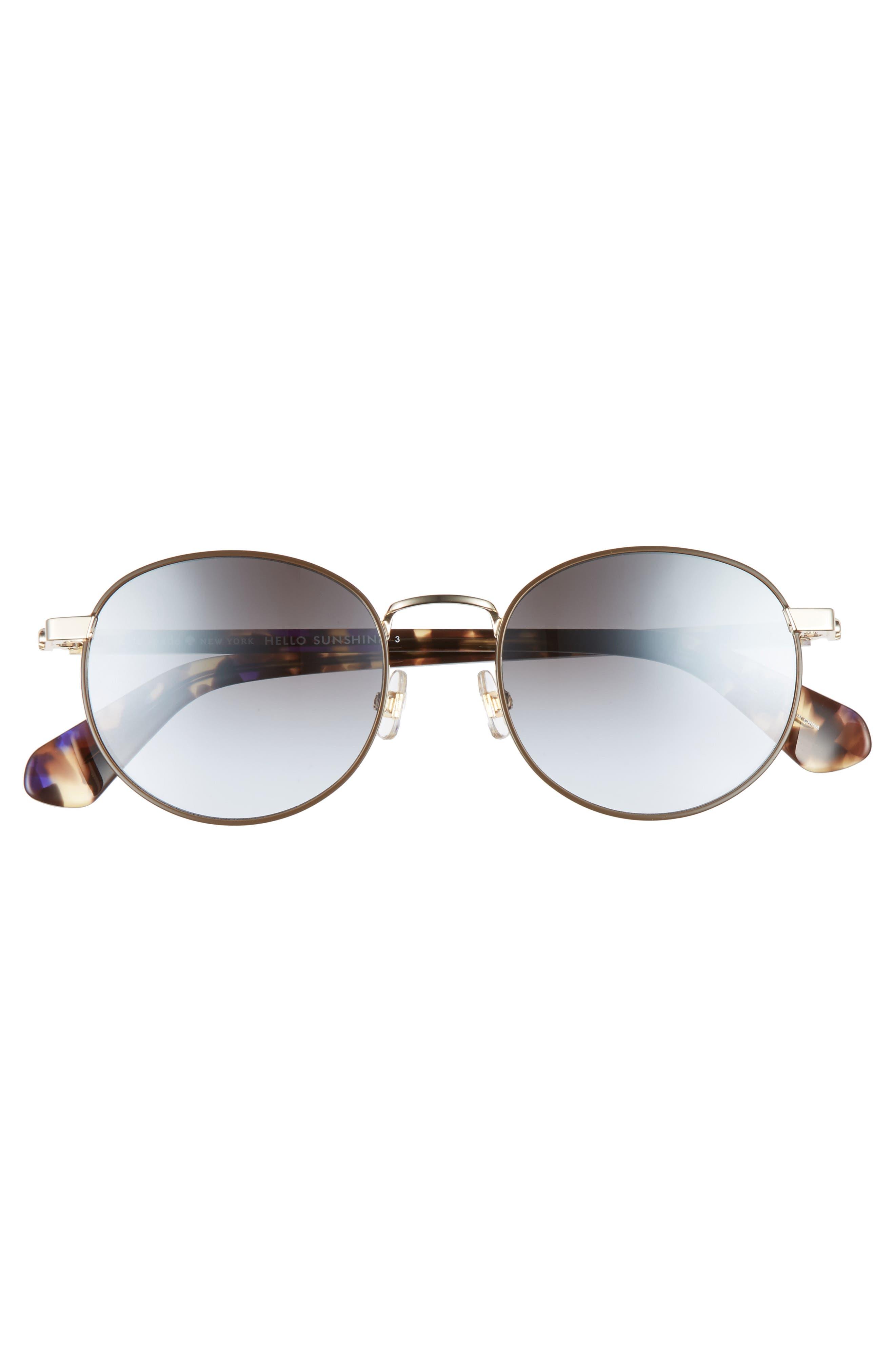 adelais 50mm round sunglasses,                             Alternate thumbnail 10, color,
