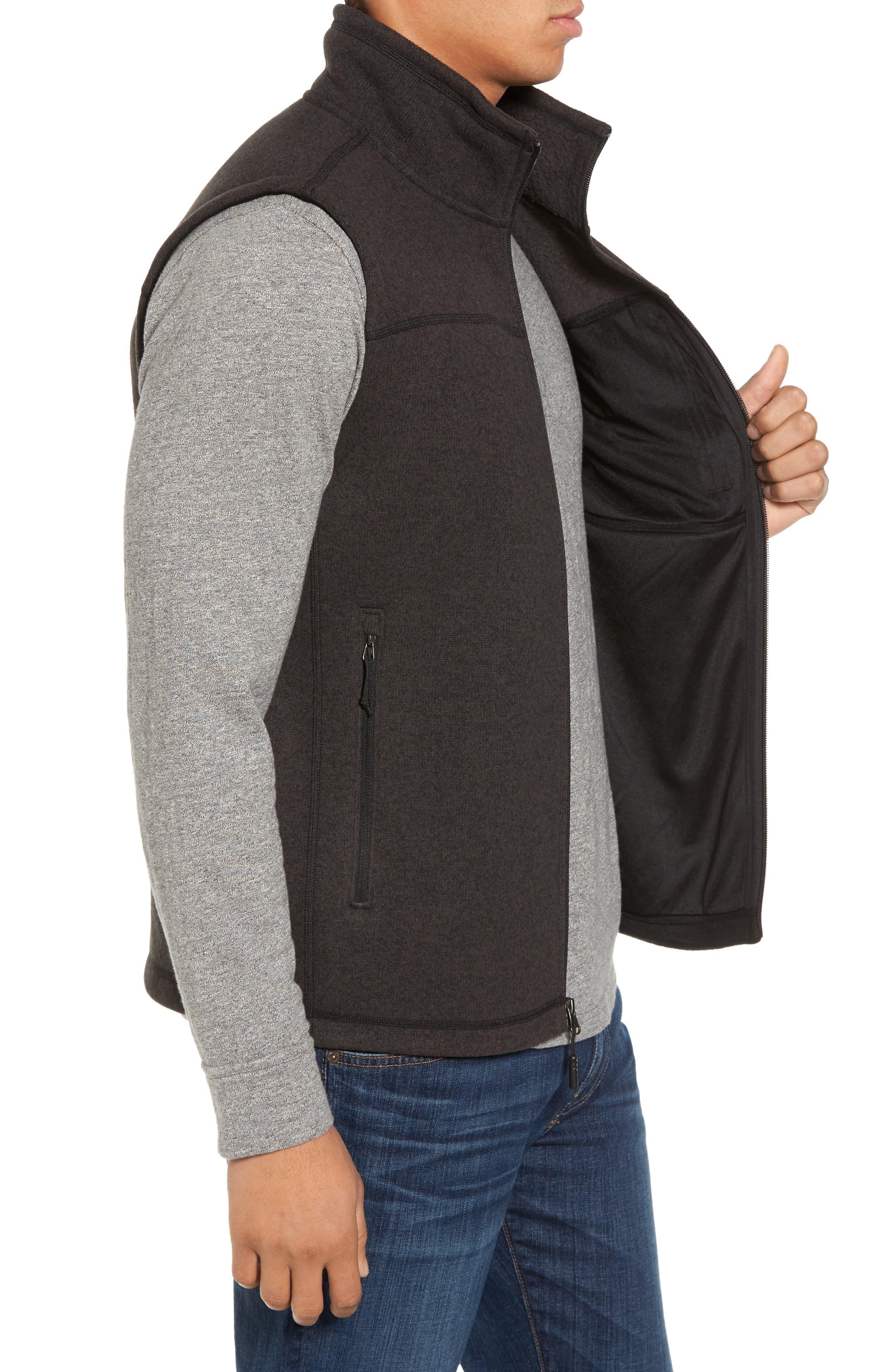 Gordon Lyons Zip Fleece Vest,                             Alternate thumbnail 11, color,