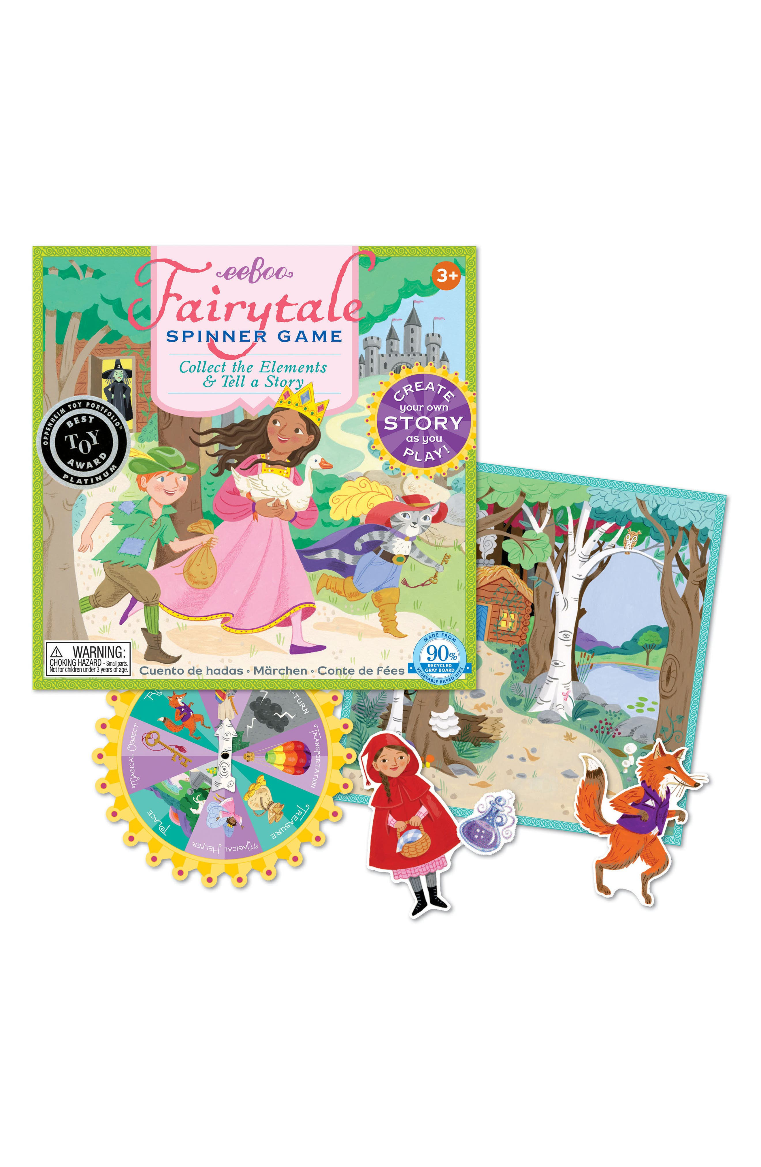 Fairy Tale Spinner Game,                         Main,                         color,