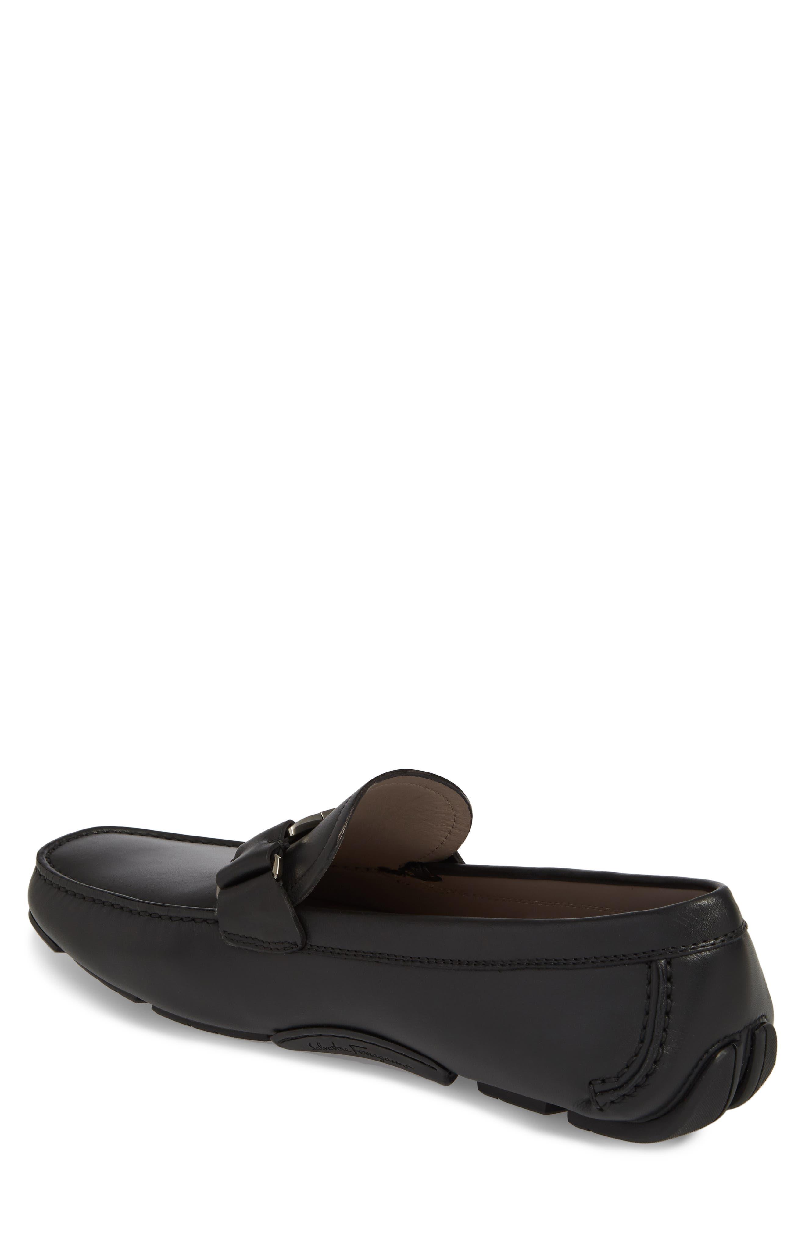 Sardegna Driving Shoe,                             Alternate thumbnail 2, color,                             BLACK LEATHER