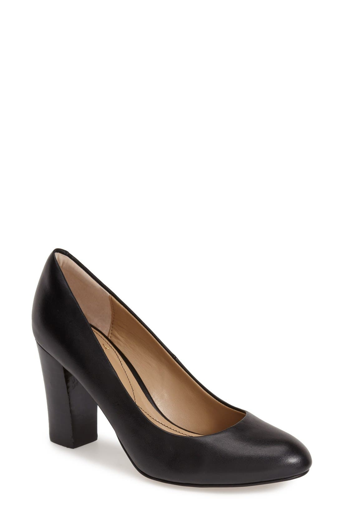 'Eleni II' Block Heel Pump,                             Main thumbnail 1, color,