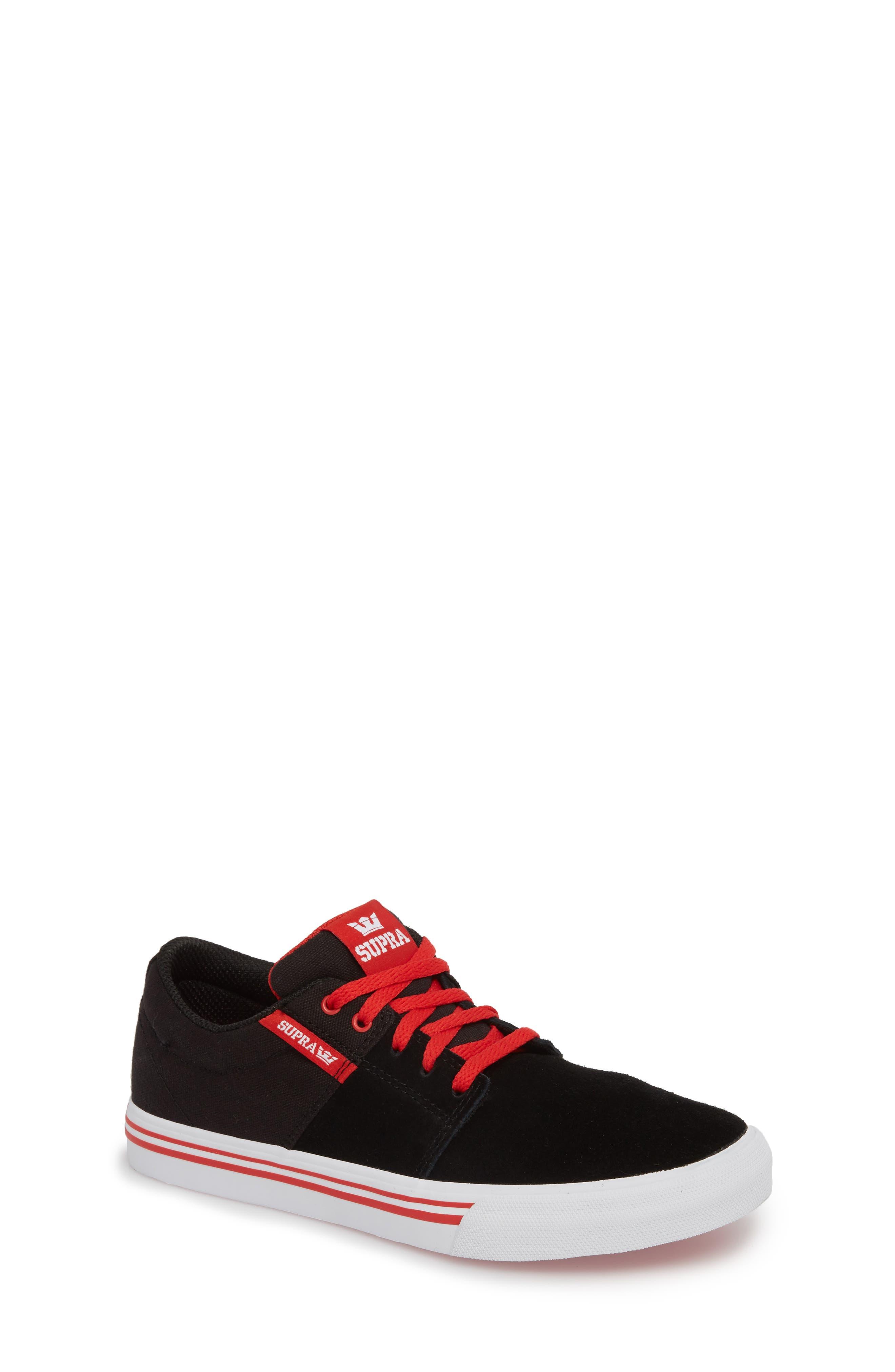 'Stacks Vulc II' Low Top Sneaker,                             Main thumbnail 1, color,                             002