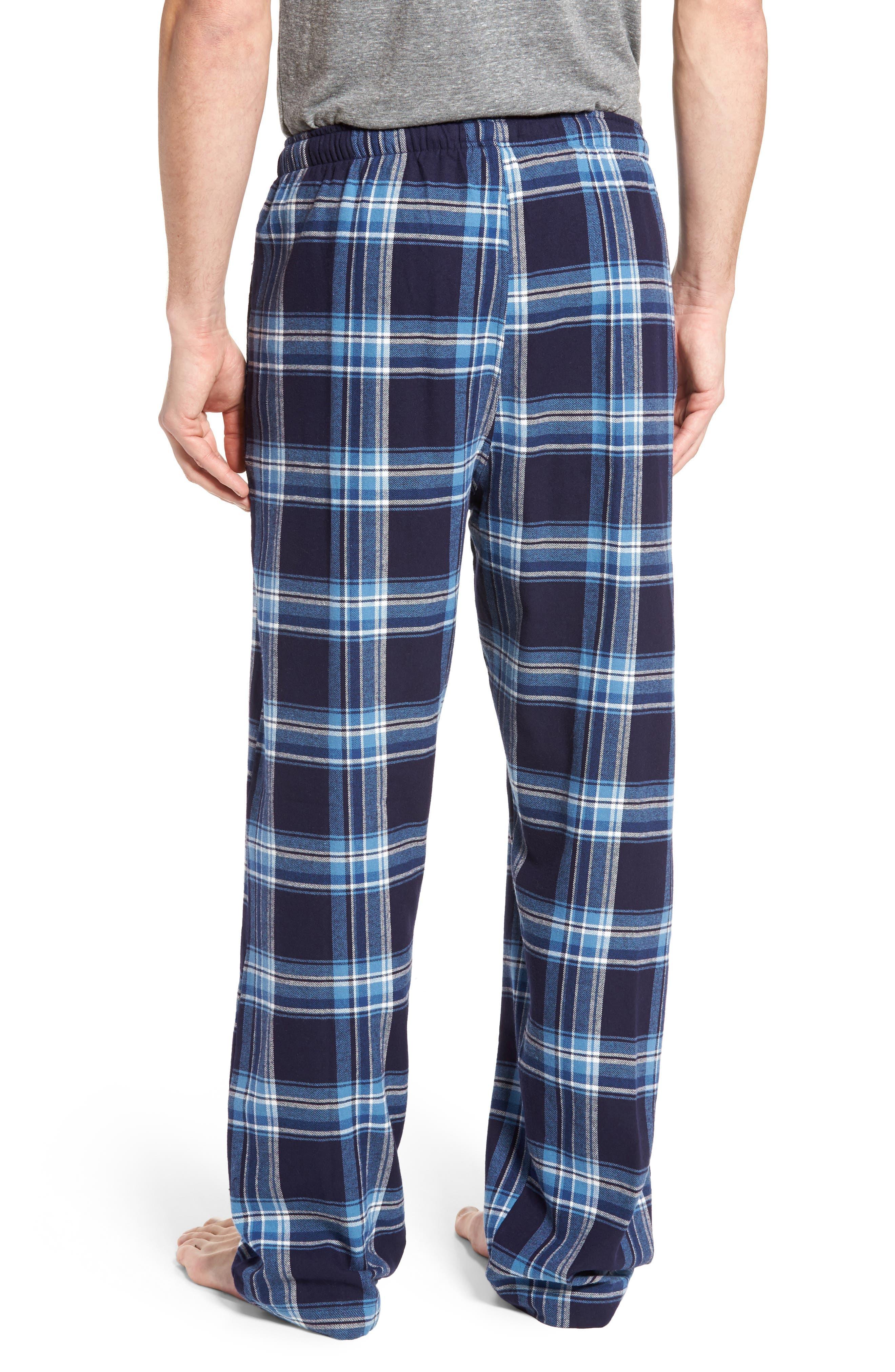 Flannel Pajama Pants,                             Alternate thumbnail 24, color,