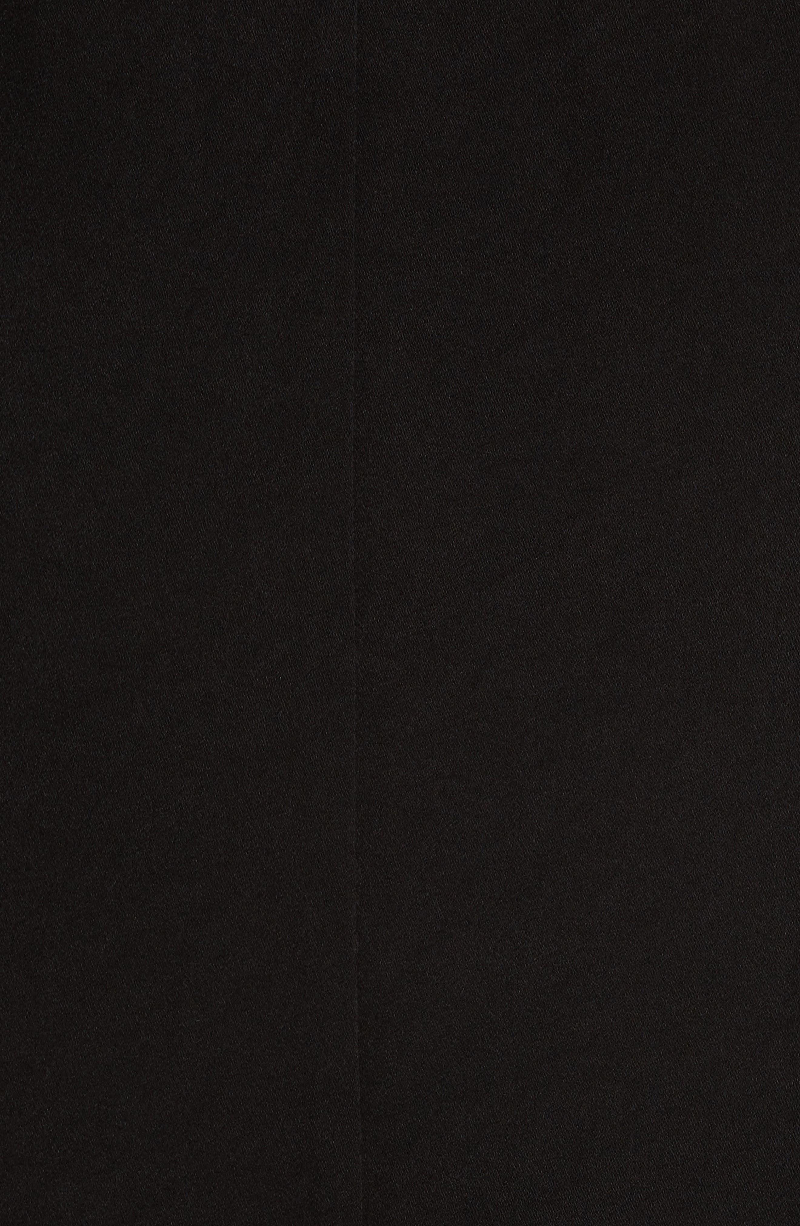 Fynn Embellished Cold Shoulder Midi Dress,                             Alternate thumbnail 5, color,                             001