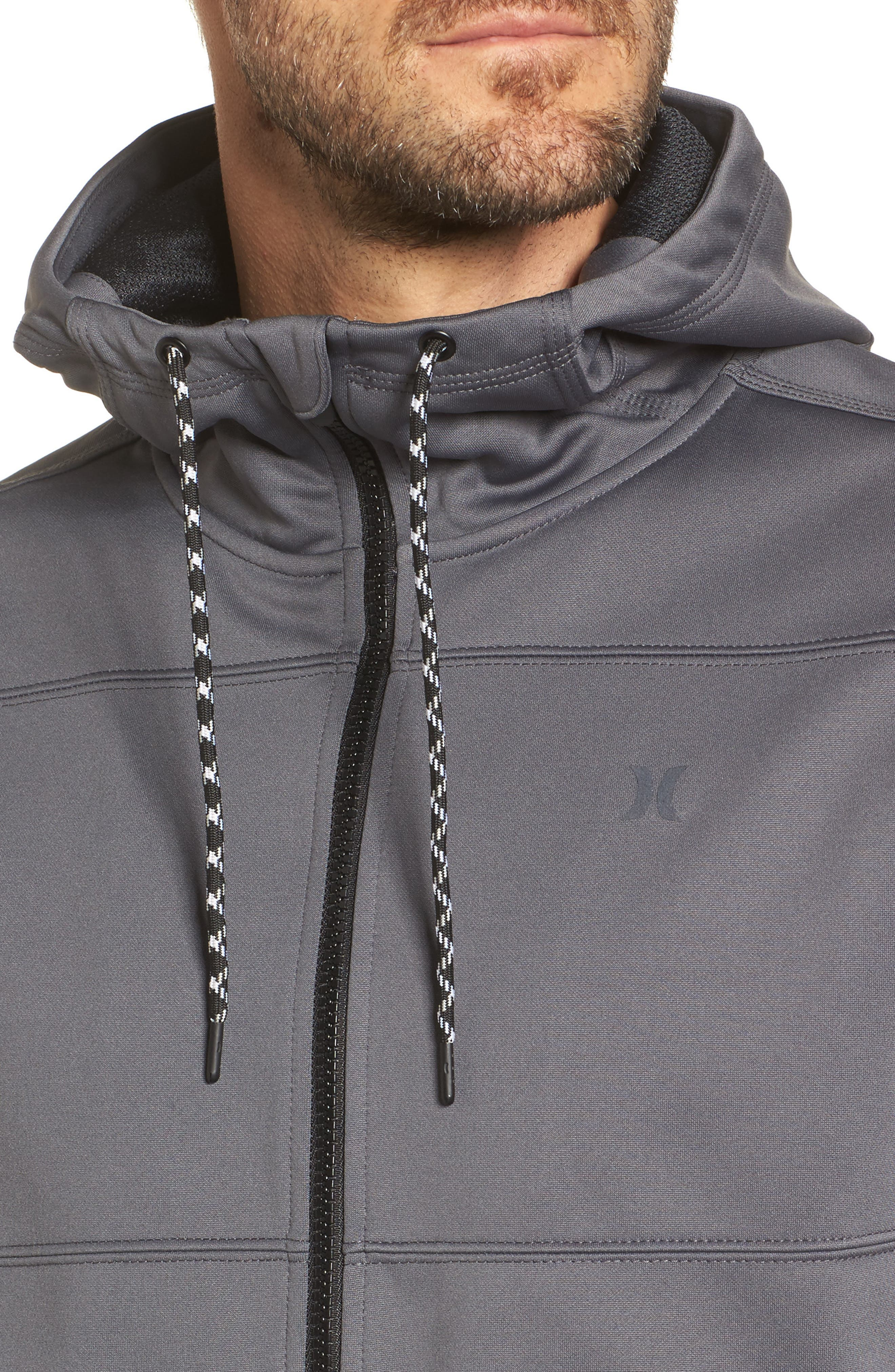 Therma Protect Zip Hoodie,                             Alternate thumbnail 11, color,