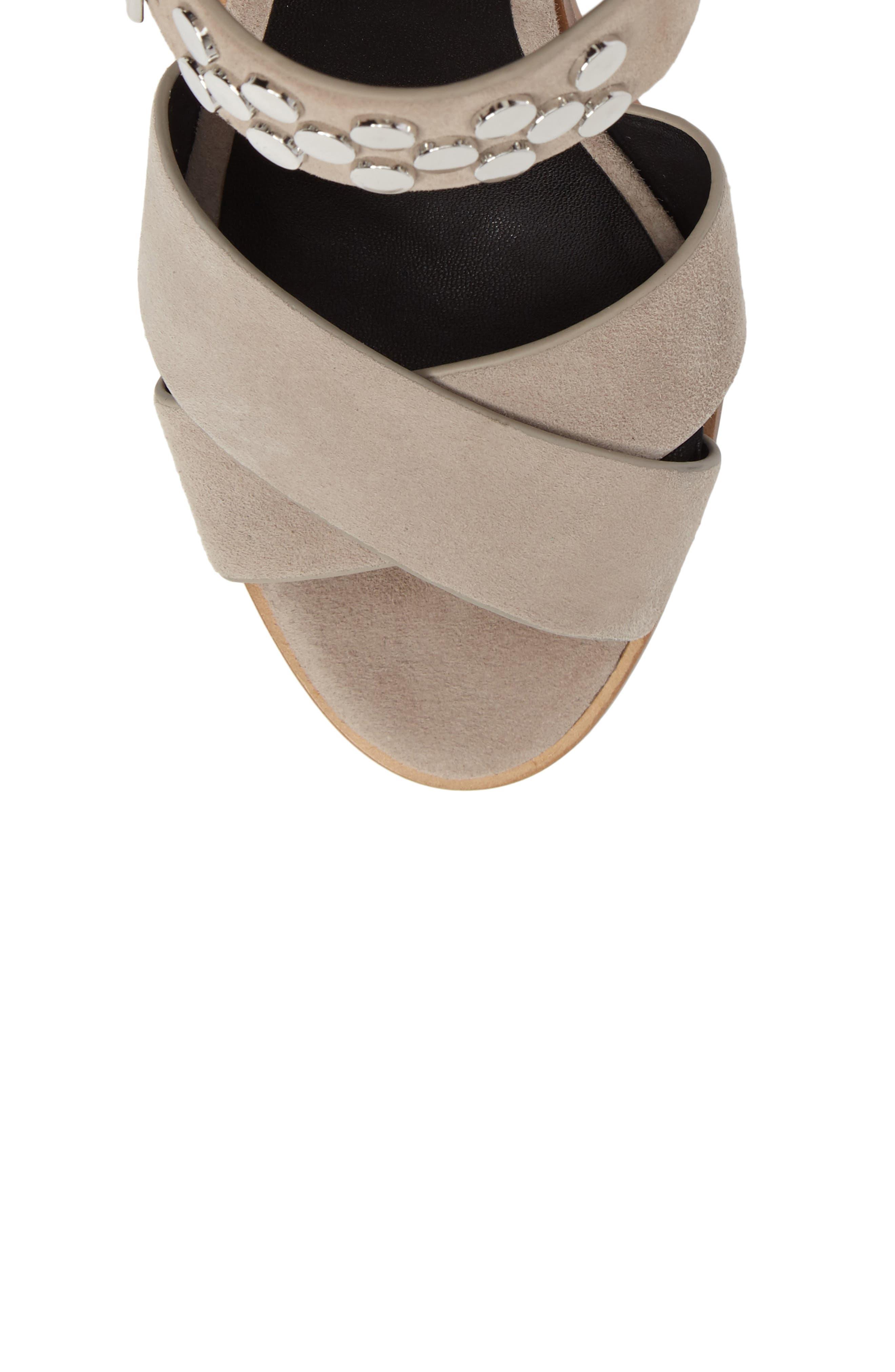 Jennifer Studded Ankle Cuff Sandal,                             Alternate thumbnail 14, color,