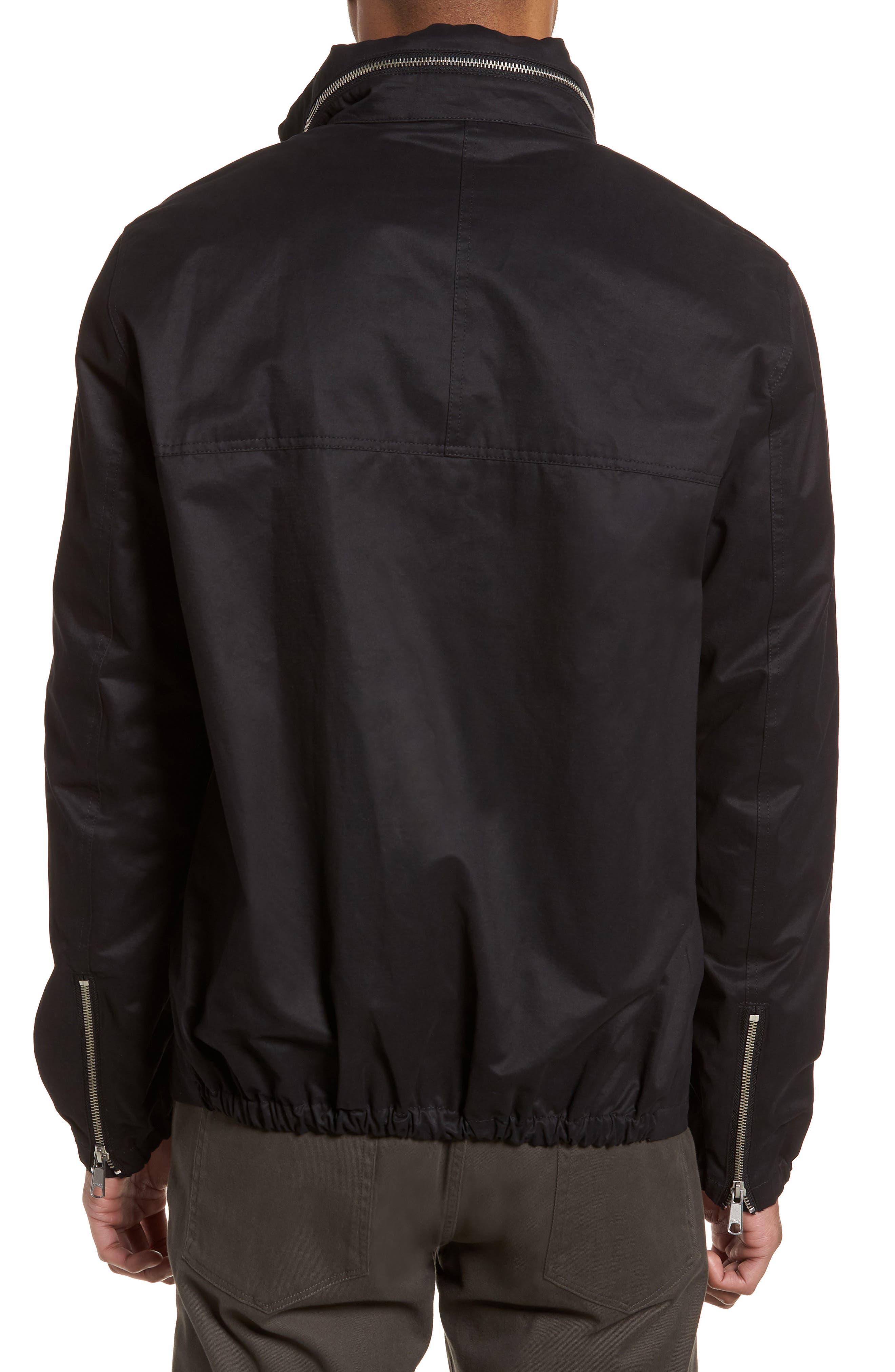 Regular Fit Hooded Jacket,                             Alternate thumbnail 2, color,                             001