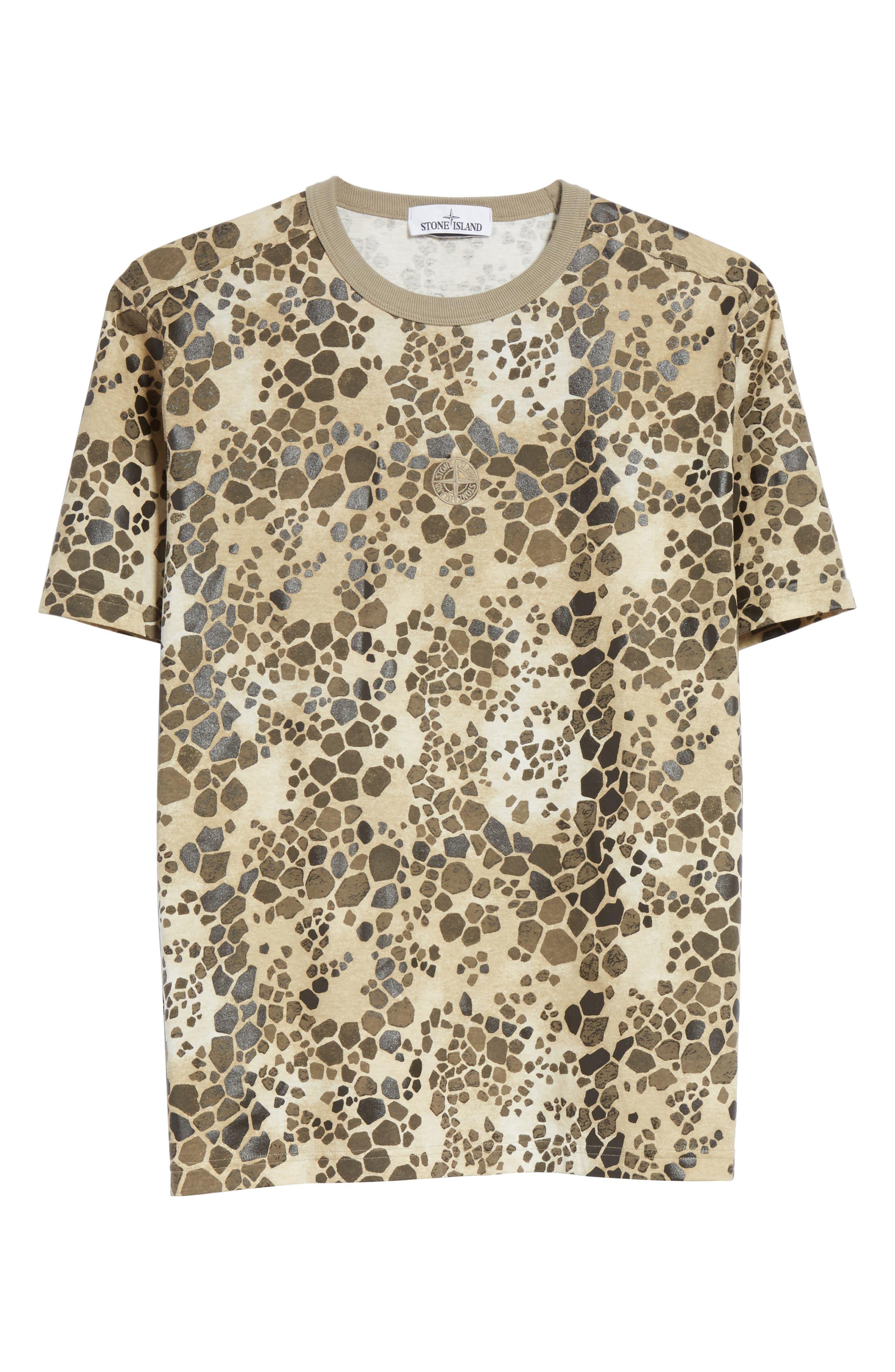 Camo Print T-Shirt,                             Alternate thumbnail 6, color,                             200