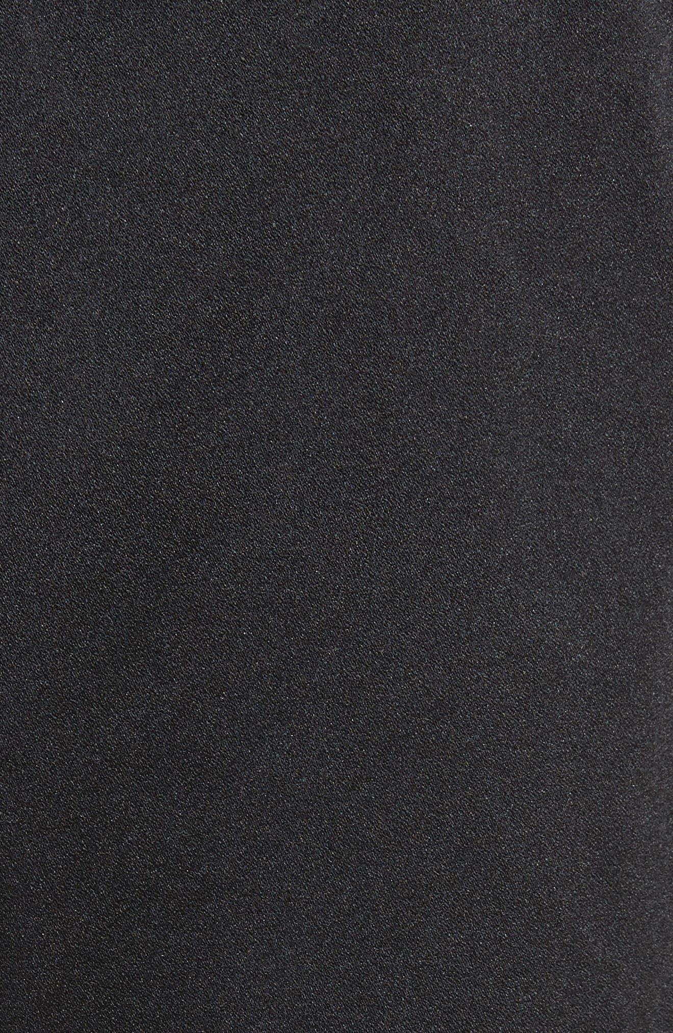 Satin Drawstring Pants,                             Alternate thumbnail 5, color,                             001