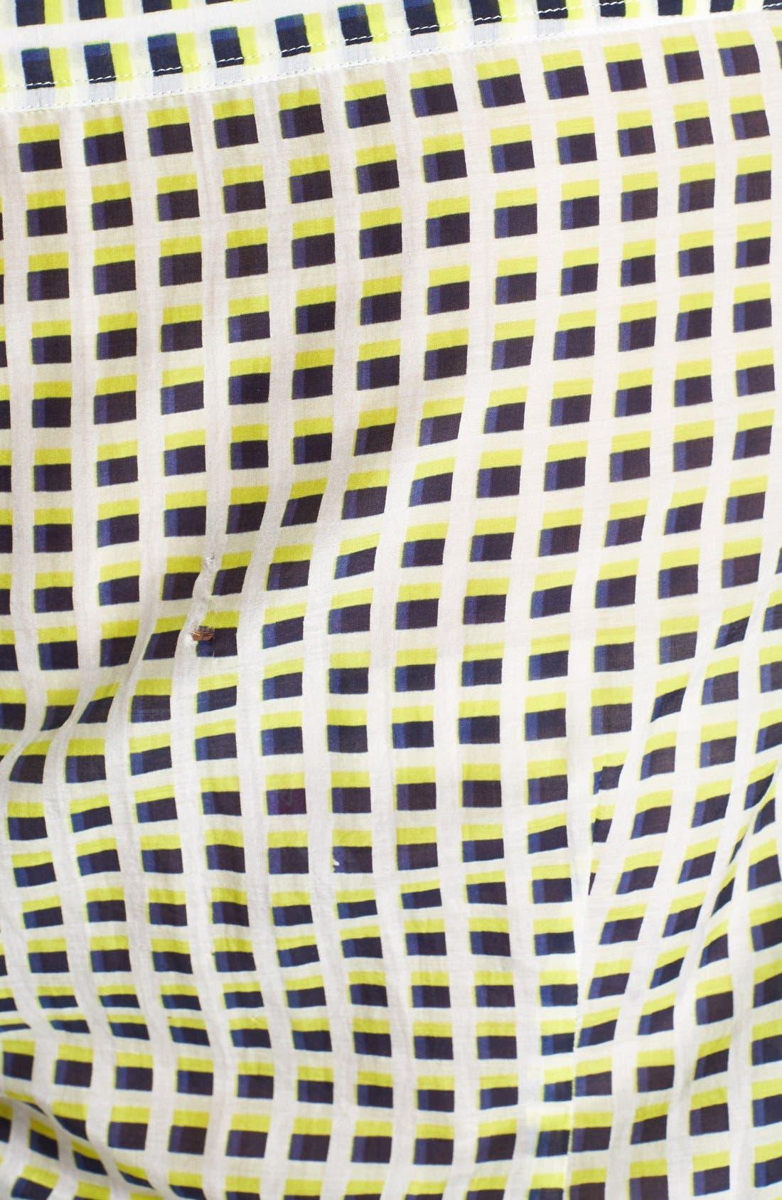 Cotton & Silk Shirt,                             Alternate thumbnail 182, color,