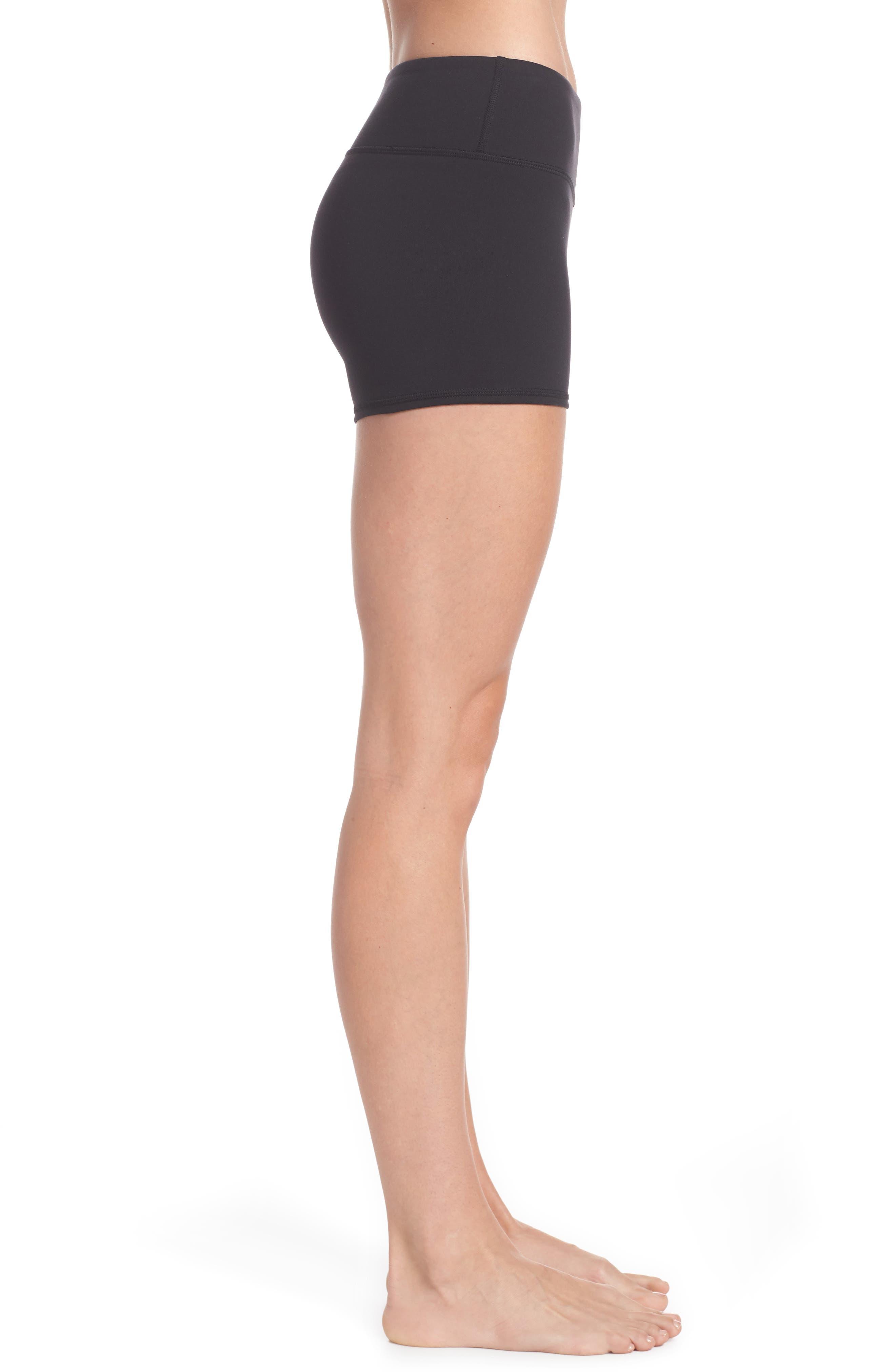 Airbrush Shorts,                             Alternate thumbnail 3, color,                             BLACK