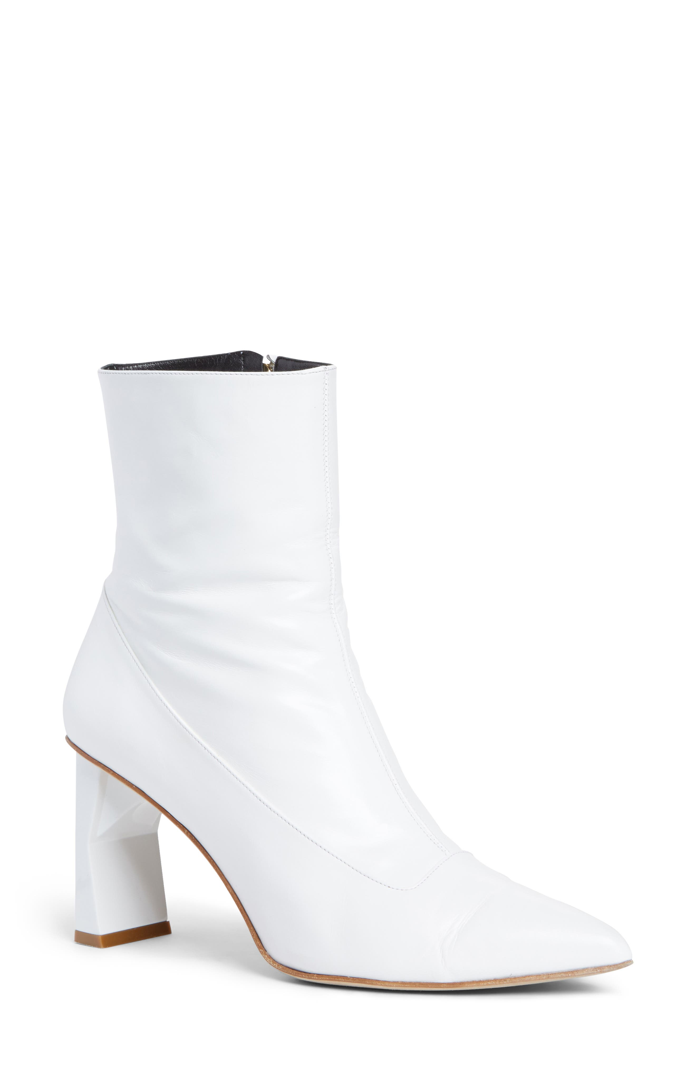 Alexis Pointy Toe Bootie,                             Main thumbnail 1, color,                             100