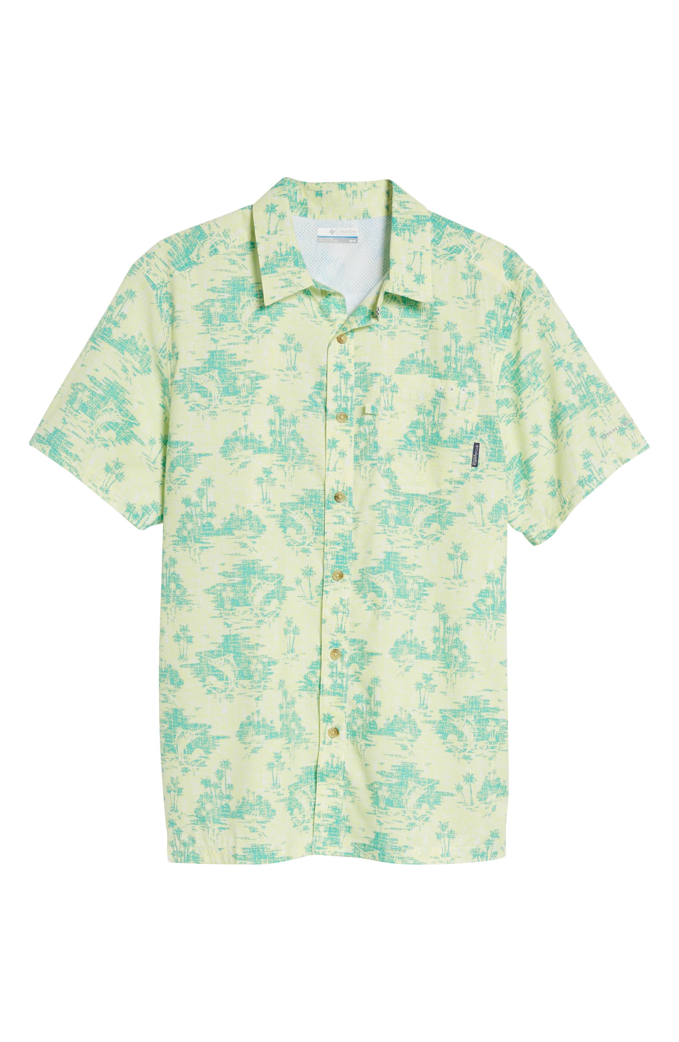 Super Slack Tide Patterned Woven Shirt,                             Alternate thumbnail 27, color,