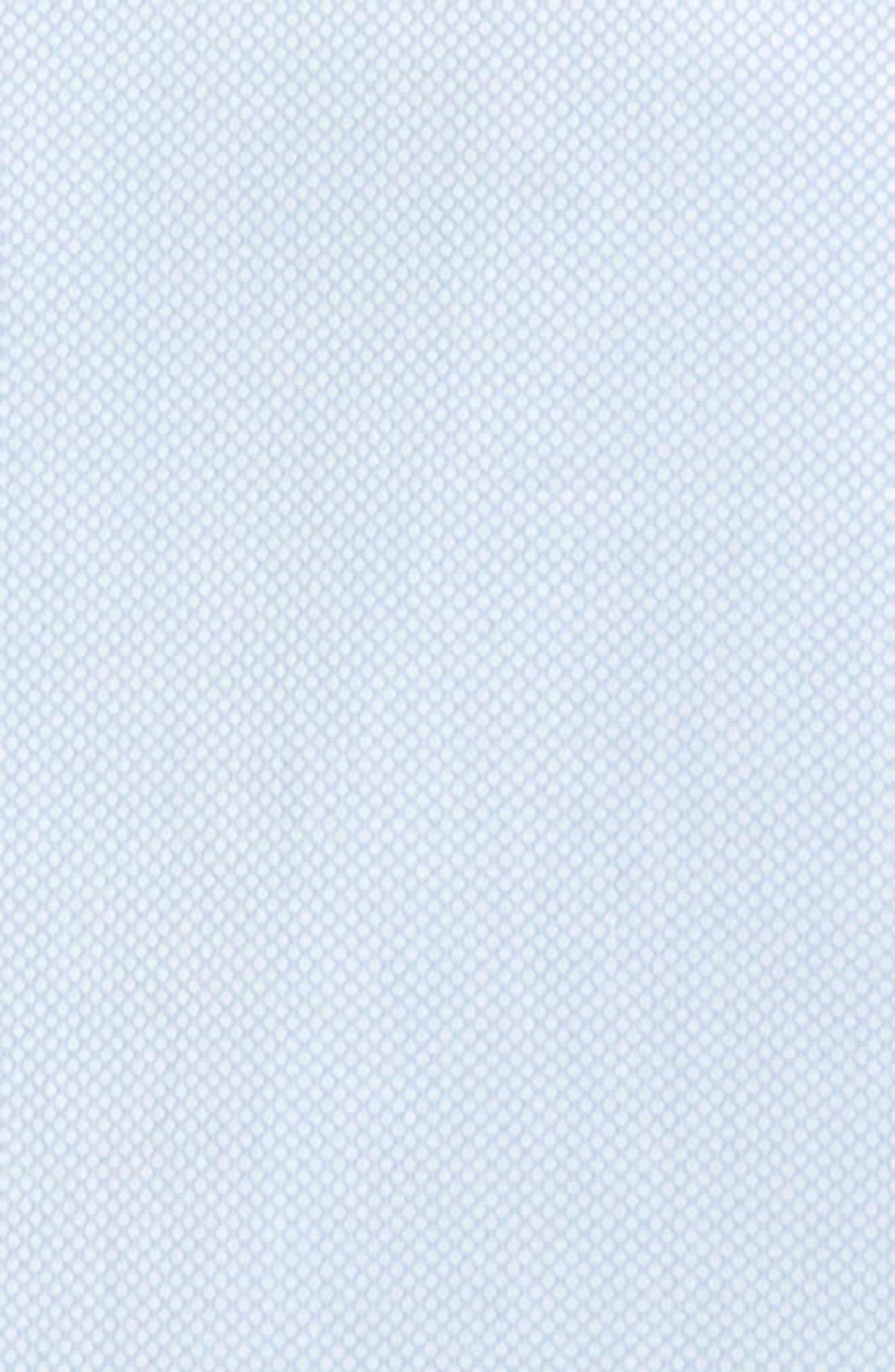 Textured Dress Shirt,                             Alternate thumbnail 2, color,                             BLUE