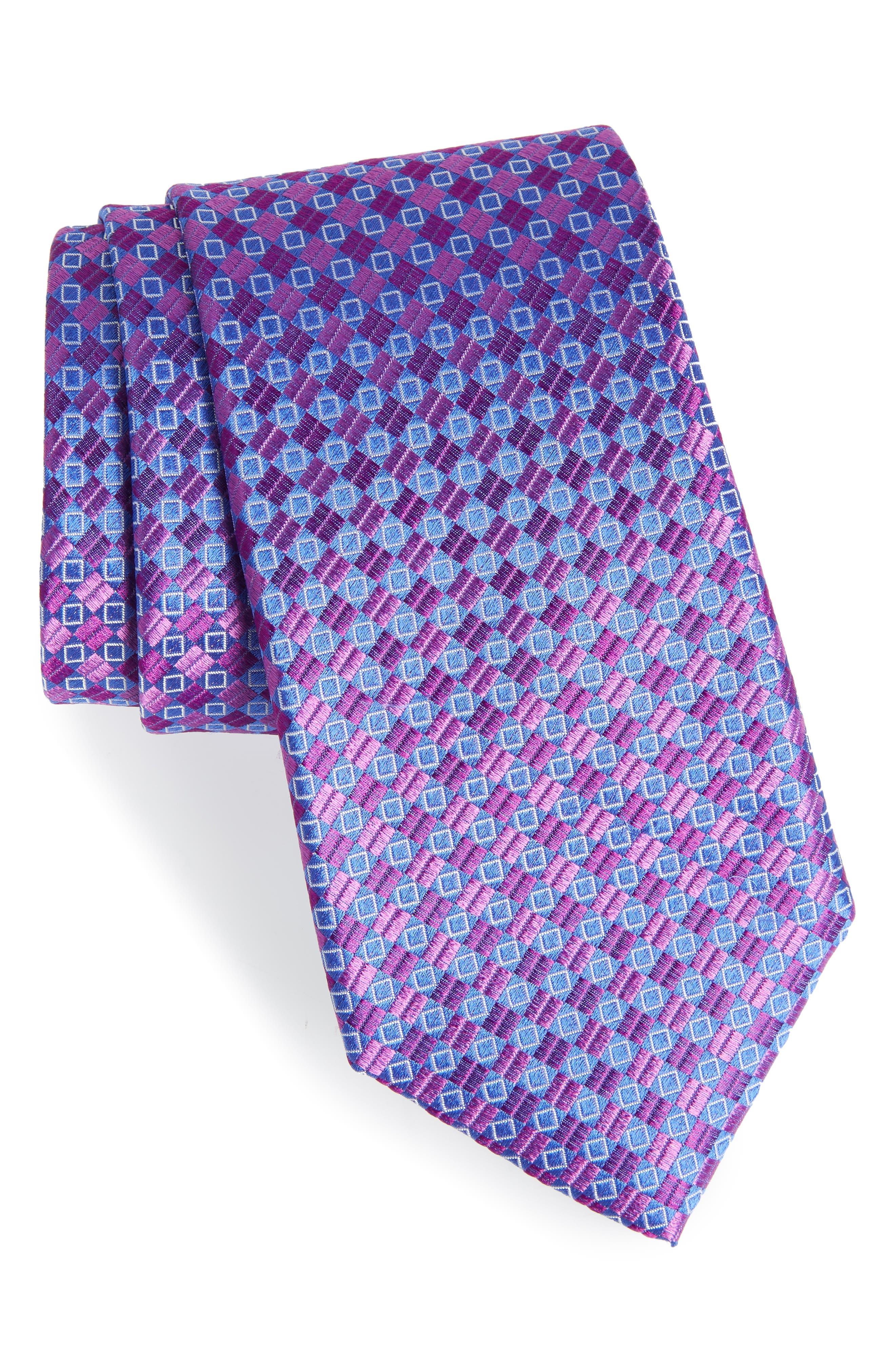 Middletown Geometric Silk Tie,                             Main thumbnail 3, color,