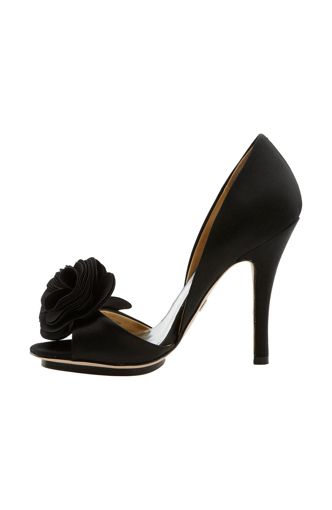 BADGLEY MISCHKA COLLECTION,                             Badgley Mischka 'Randall' Pump,                             Alternate thumbnail 4, color,                             015