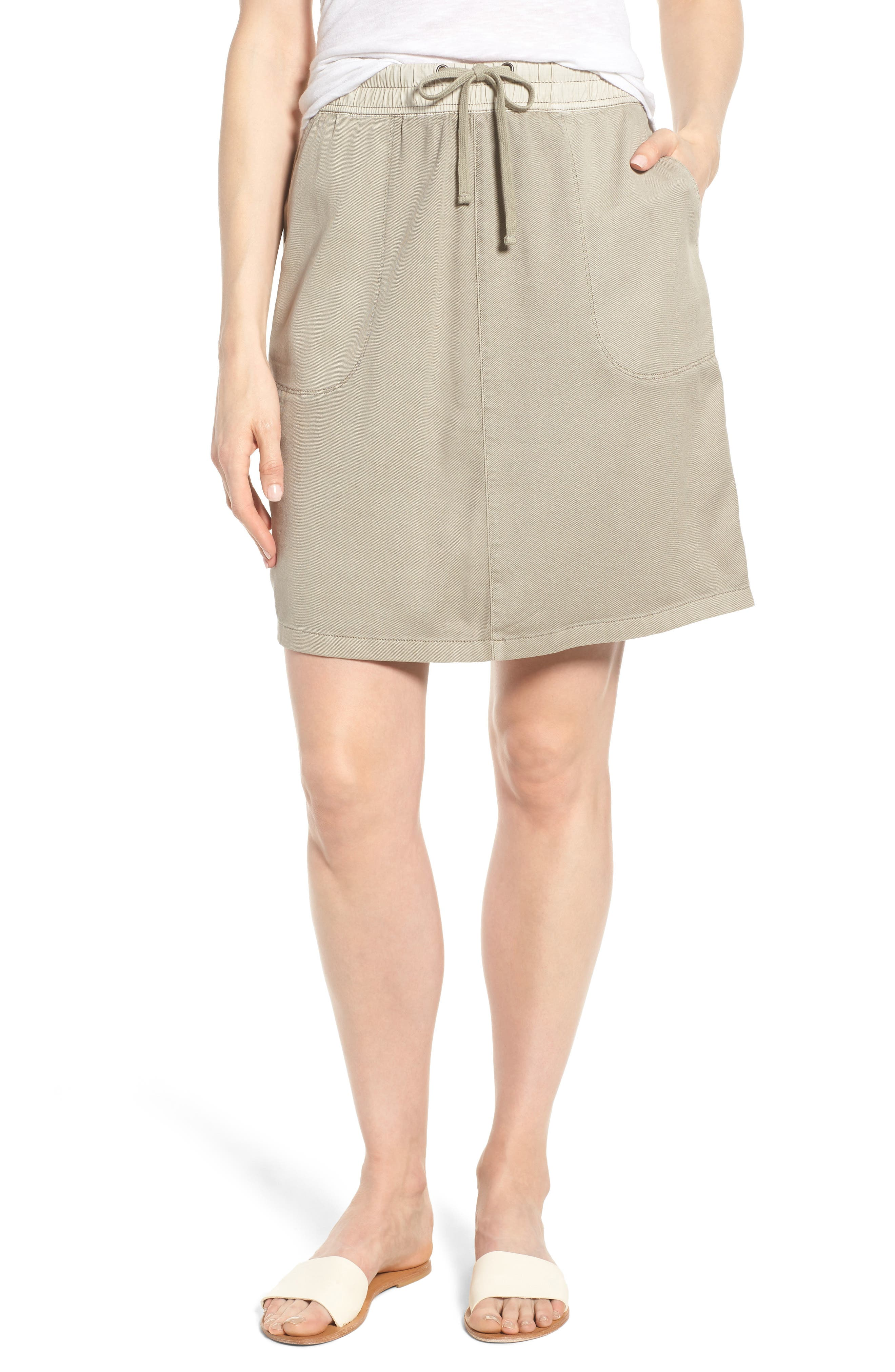 Open Road Skirt,                         Main,                         color, FLAX