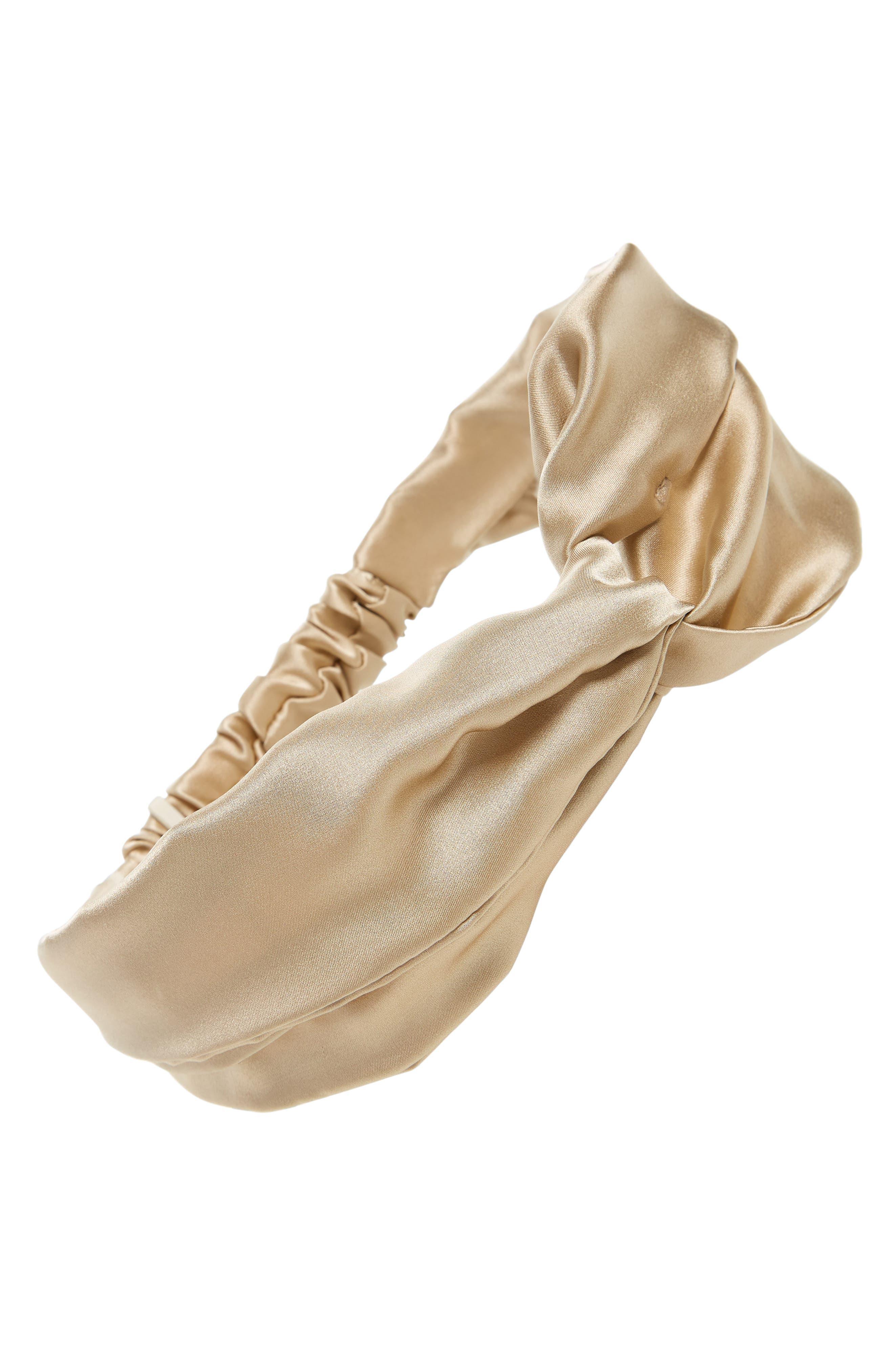 ChaCha Silk Turban Head Wrap,                         Main,                         color, 201