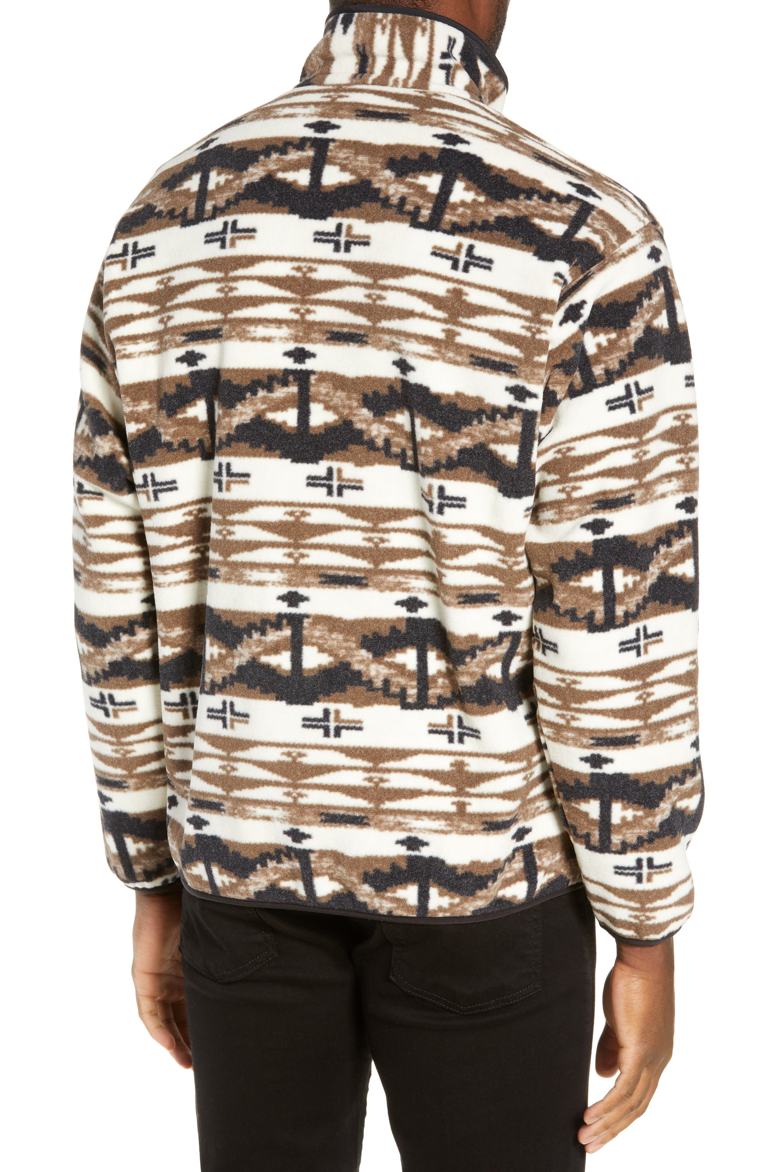 Synchilla<sup>®</sup> Snap-T<sup>®</sup> Pullover,                             Alternate thumbnail 2, color,                             SHEPHERD KNIT/ BIRCH WHITE