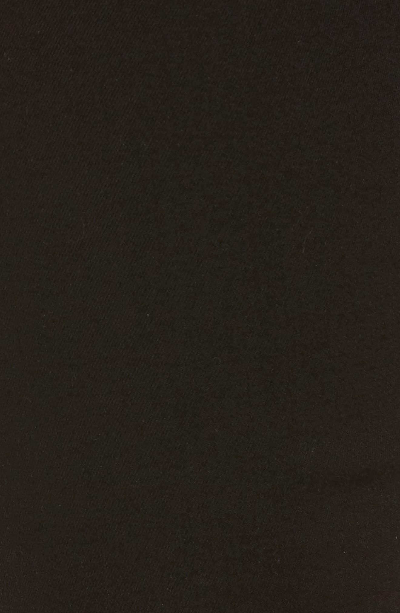 b(air) Crop Bootcut Jeans,                             Alternate thumbnail 5, color,                             B(AIR) BLACK