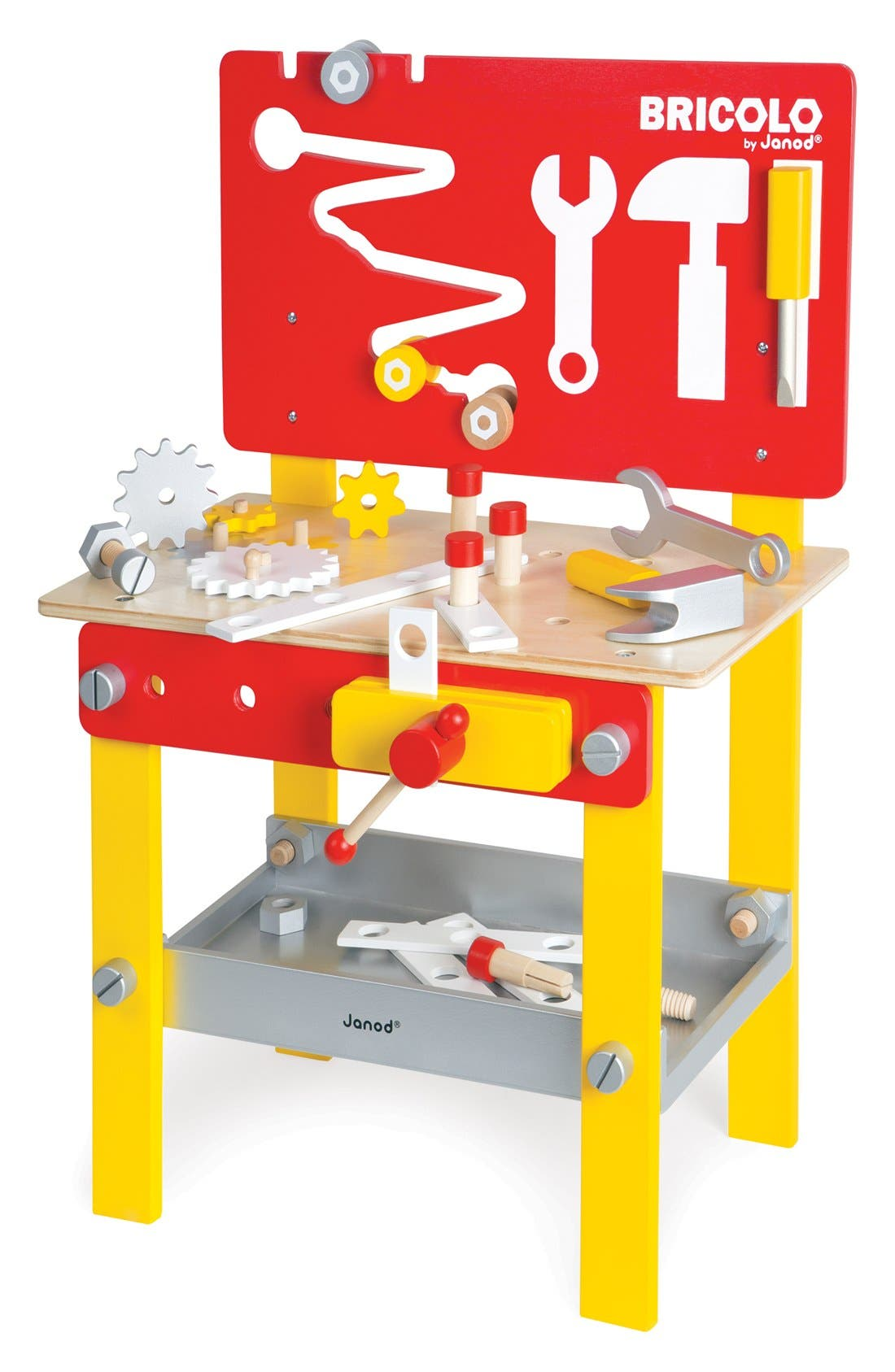 'Bricolo Redmaster - DIY Workbench' Play Set,                             Alternate thumbnail 2, color,                             MULTI