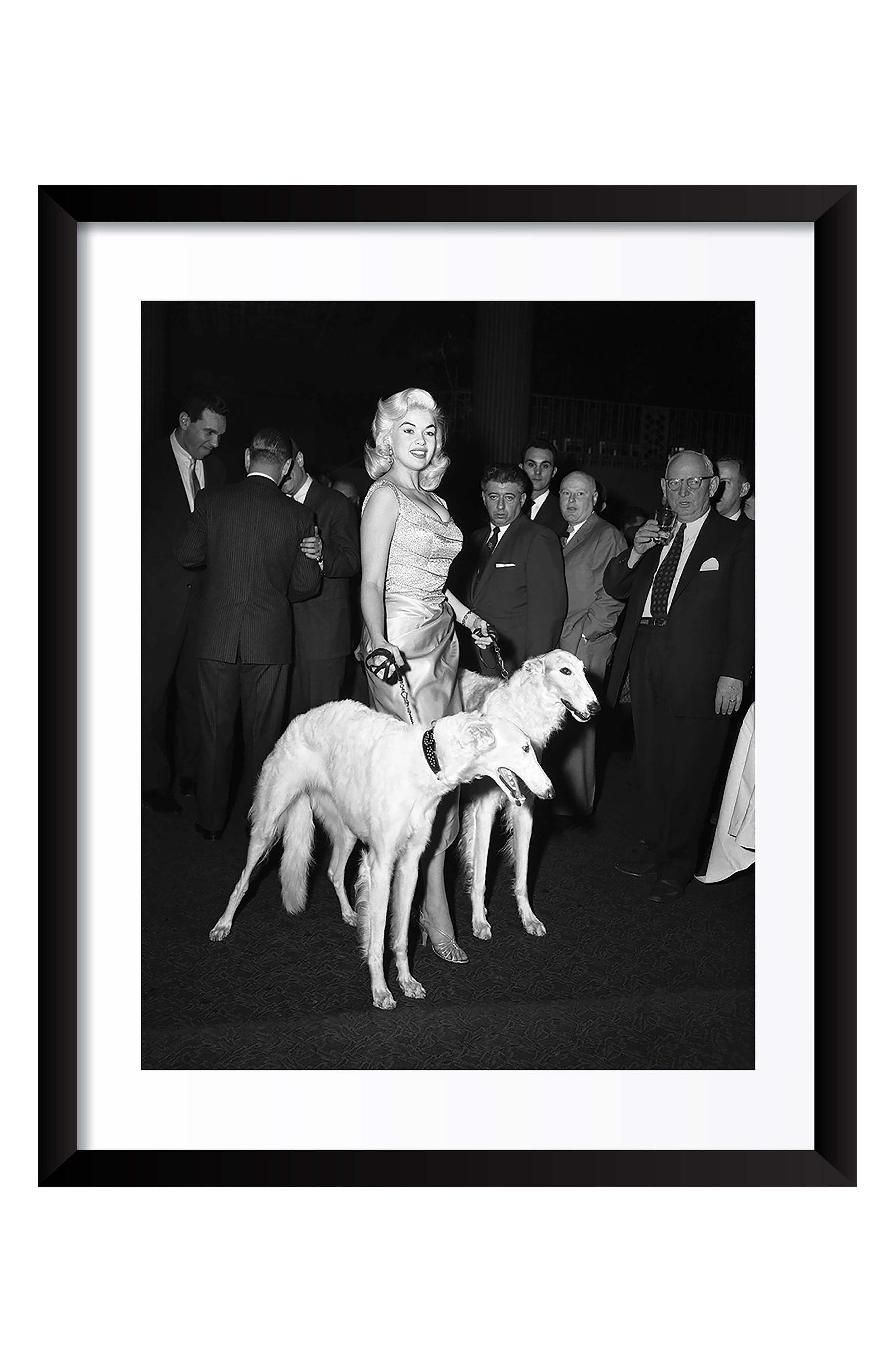 Jayne Mansfield Fine Art Print,                         Main,                         color,
