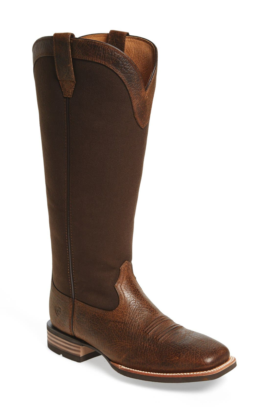 ARIAT 'Quickdraw Snake' Cowboy Boot, Main, color, 200