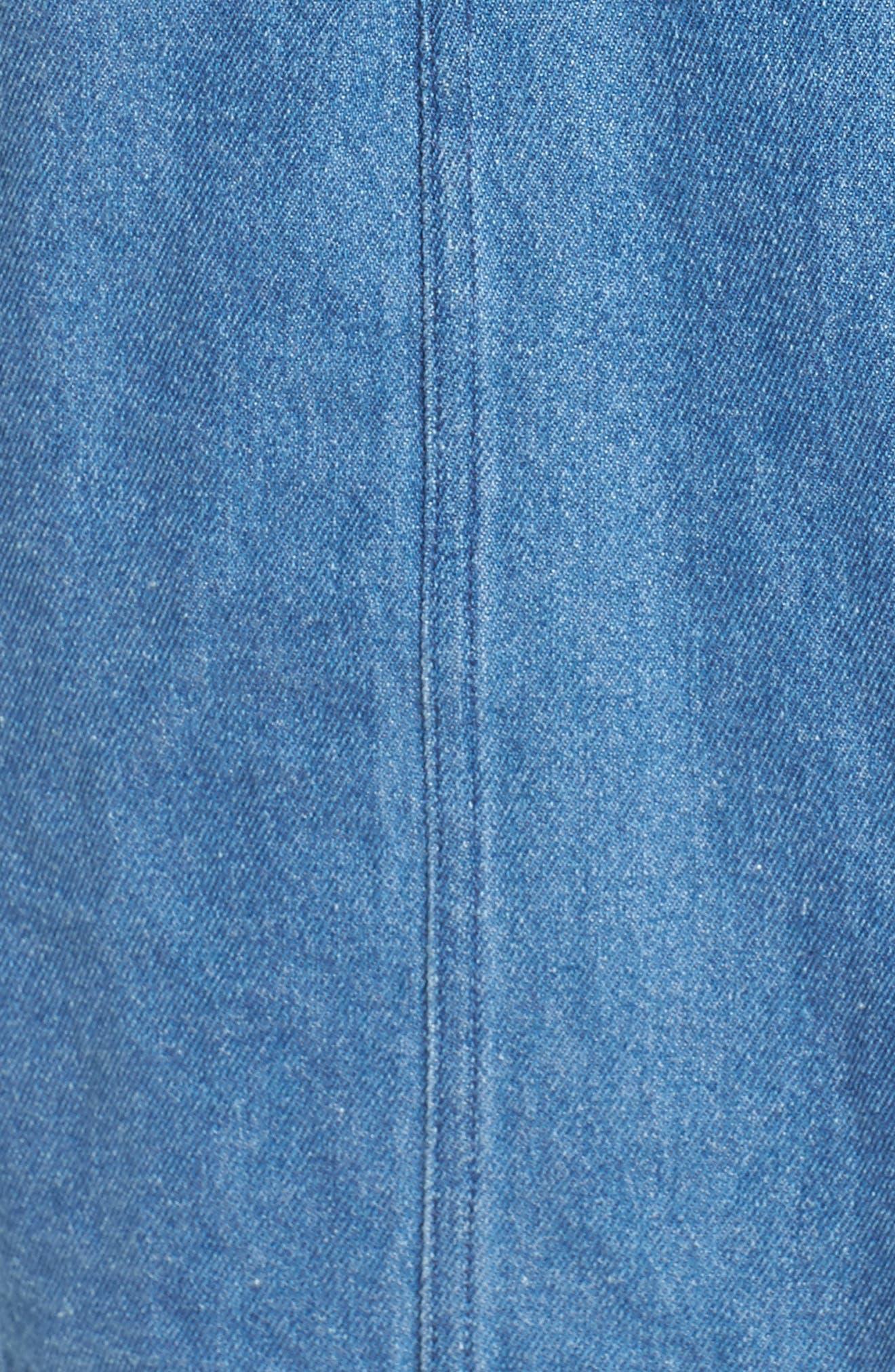 Vagabond Denim Dress,                             Alternate thumbnail 5, color,                             400