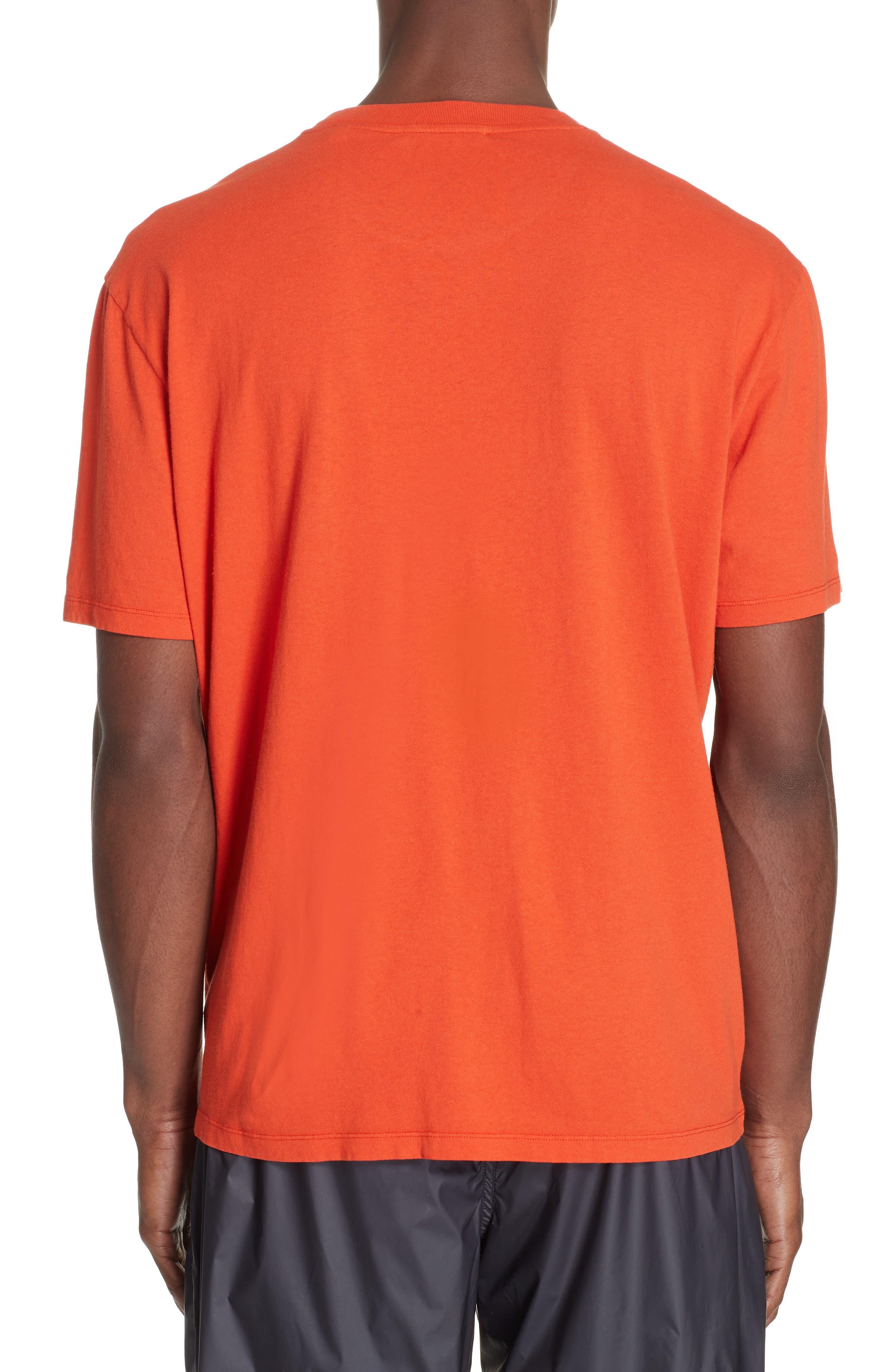 Portrait Graphic Box T-shirt,                             Alternate thumbnail 2, color,                             RED