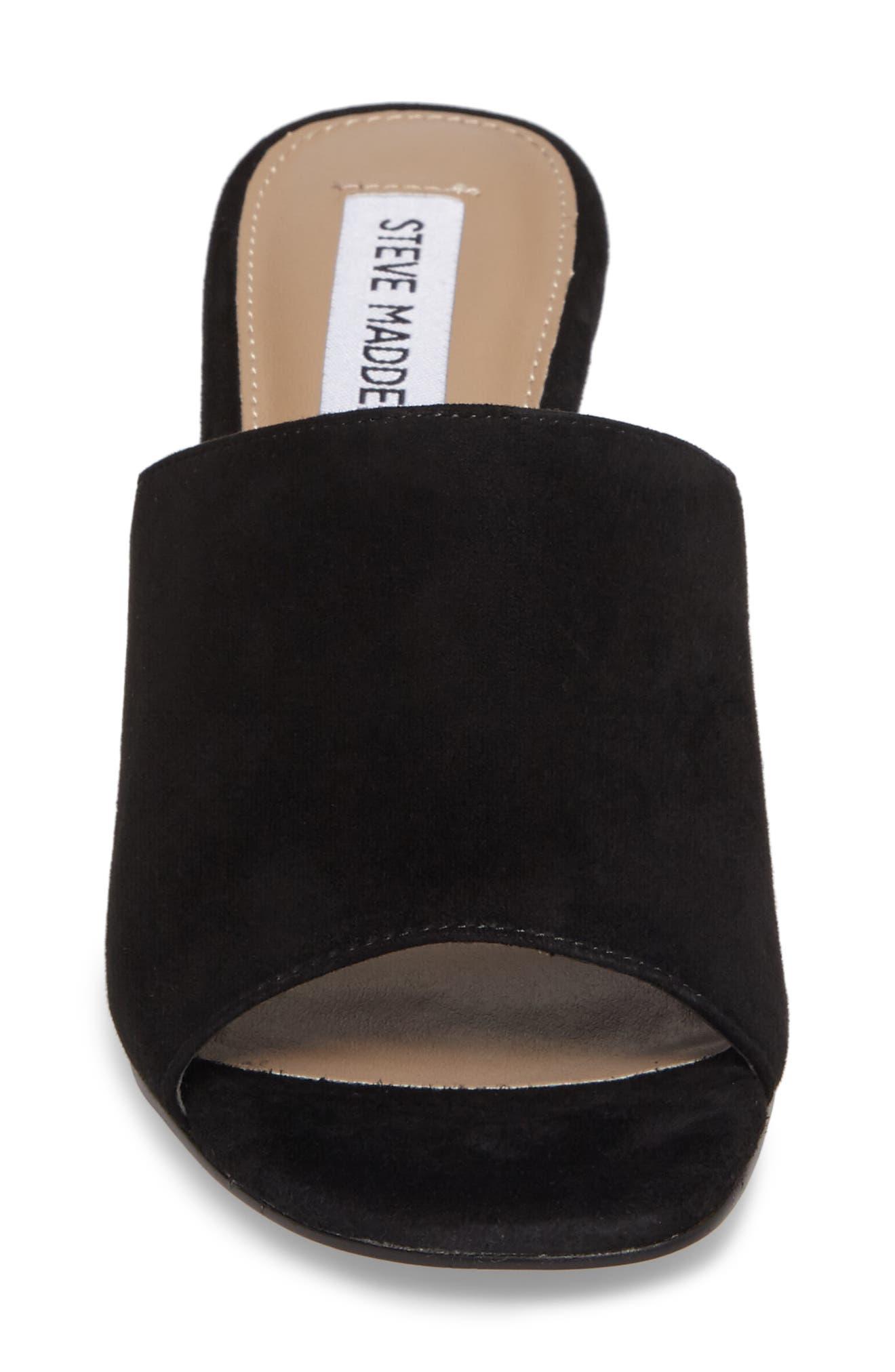 Dalis Clear Heel Slide Sandal,                             Alternate thumbnail 4, color,                             006