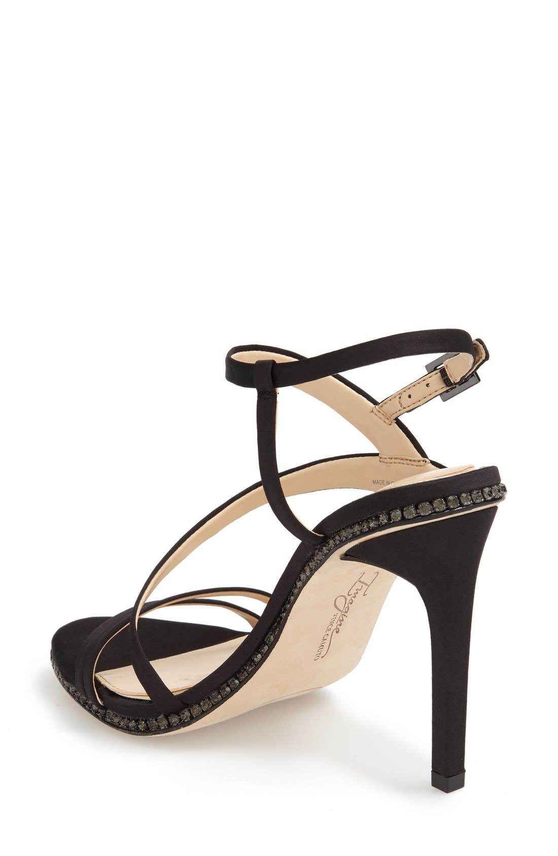 Imagine Vince Camuto 'Gian' Strappy Sandal,                             Alternate thumbnail 5, color,