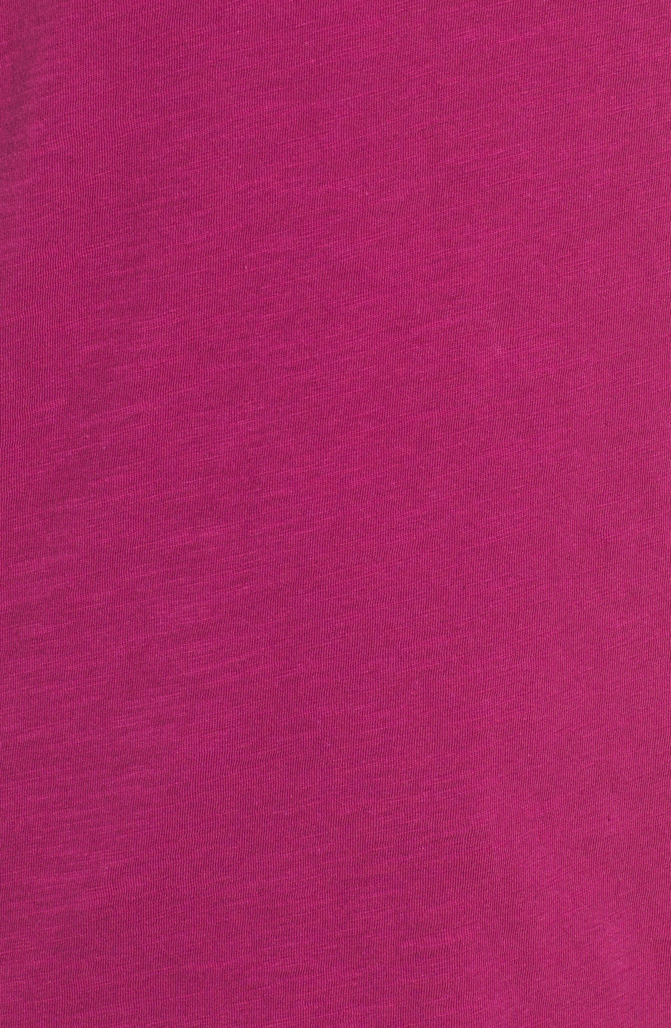 Organic Cotton V-Neck Tee,                             Alternate thumbnail 79, color,