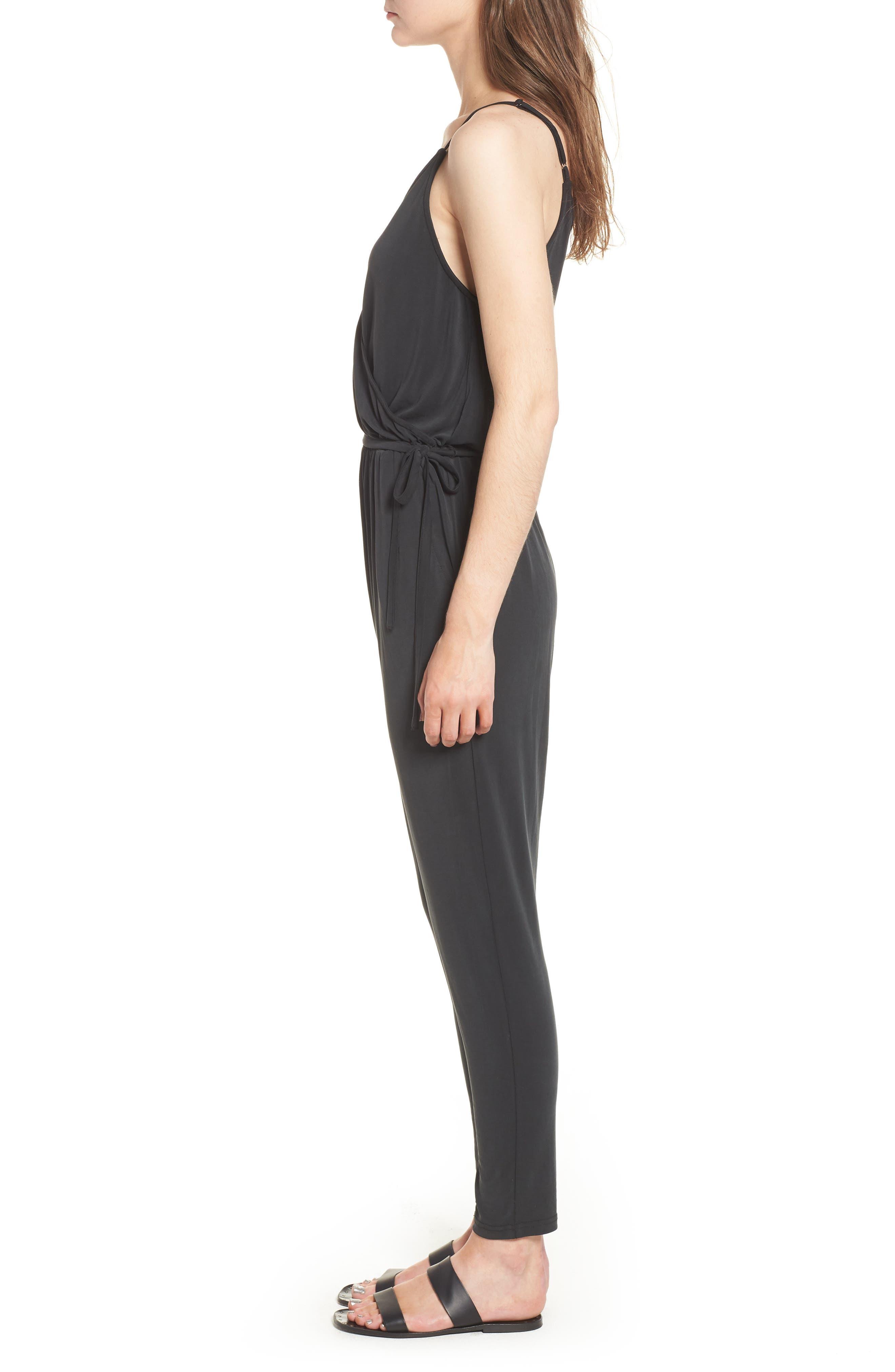 LIRA CLOTHING,                             Marni Jumpsuit,                             Alternate thumbnail 3, color,                             001