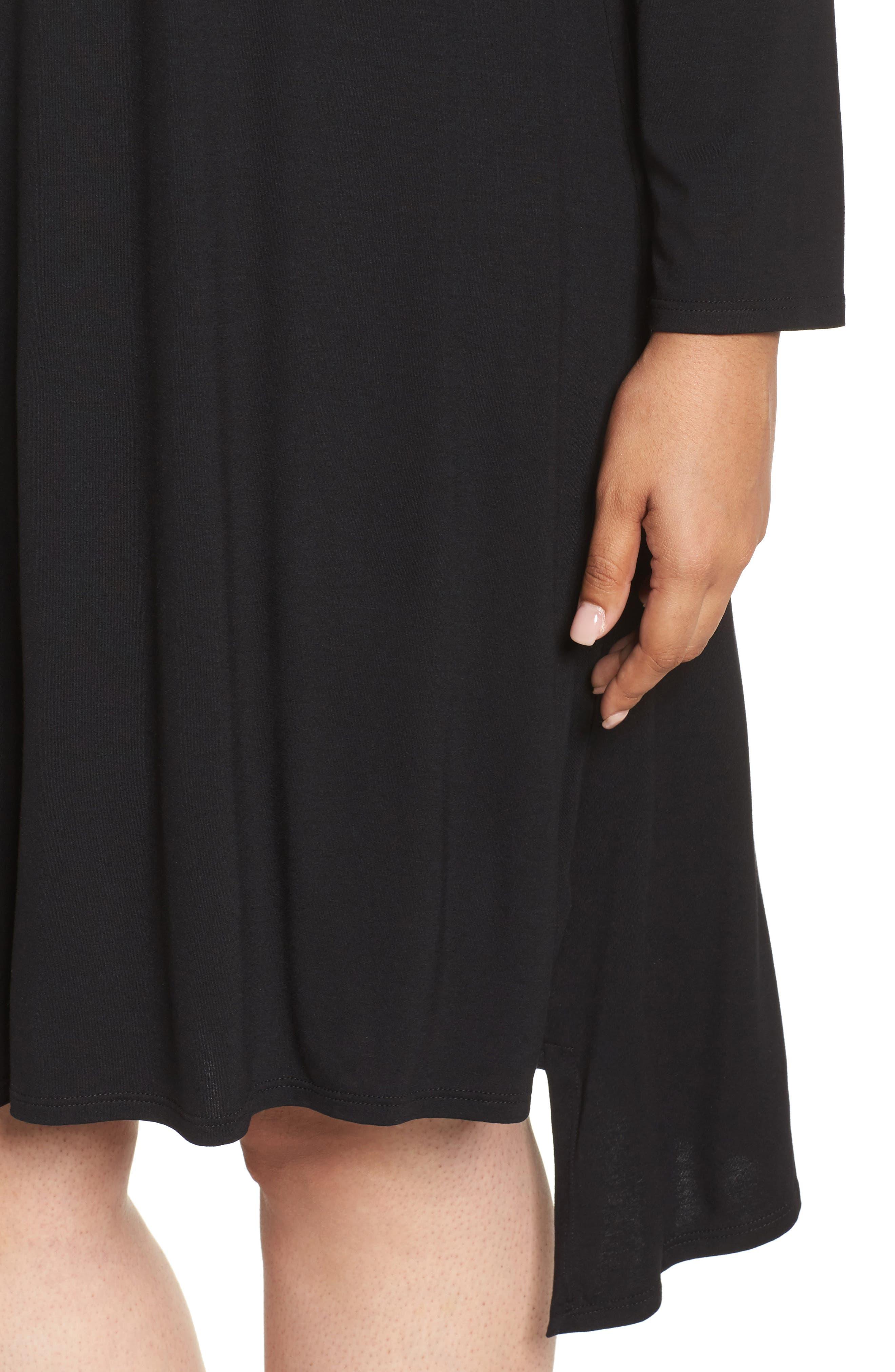 Jersey Tunic Dress,                             Alternate thumbnail 13, color,