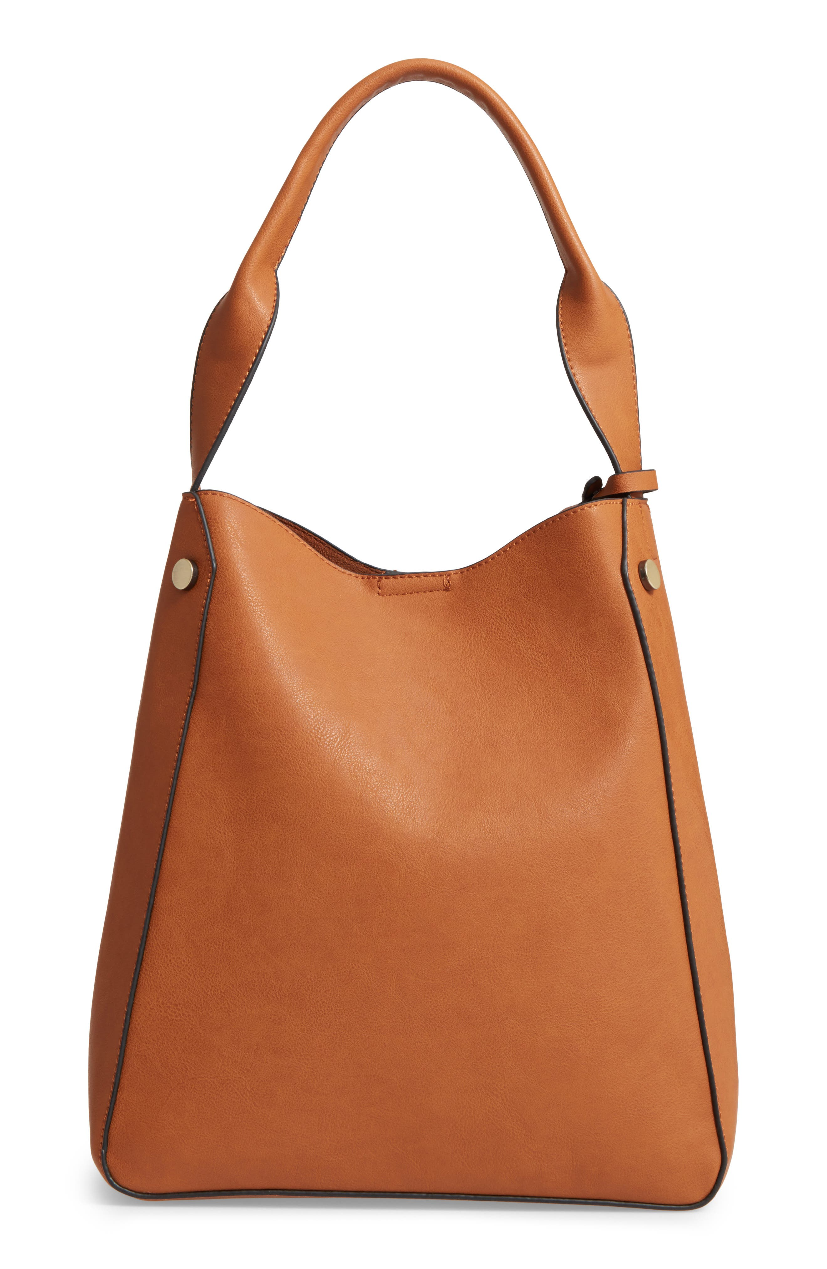 Alani Faux Leather Shoulder Bag,                             Main thumbnail 2, color,