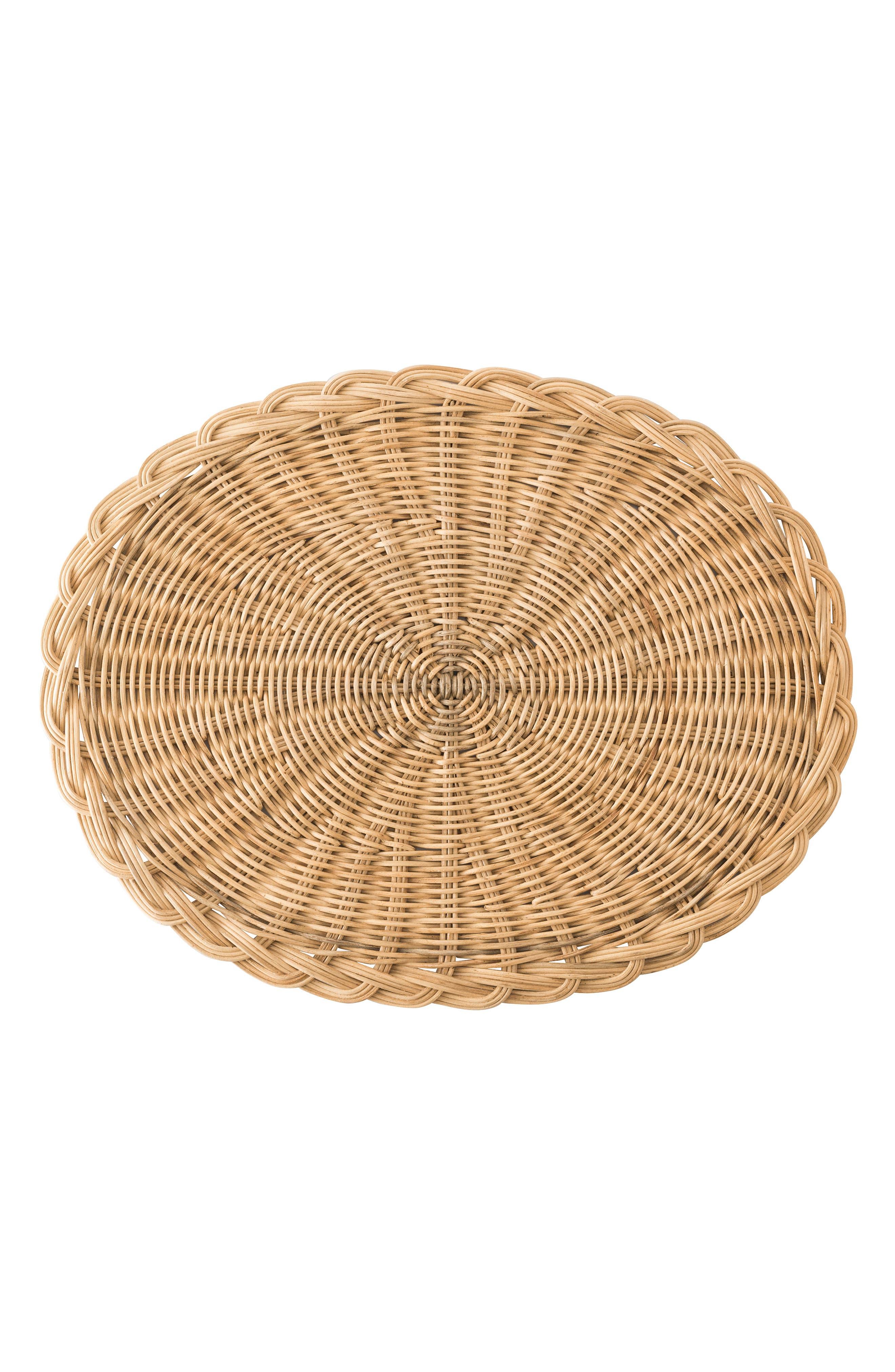 Juliska Braided Basket Placemat Size One Size  Beige