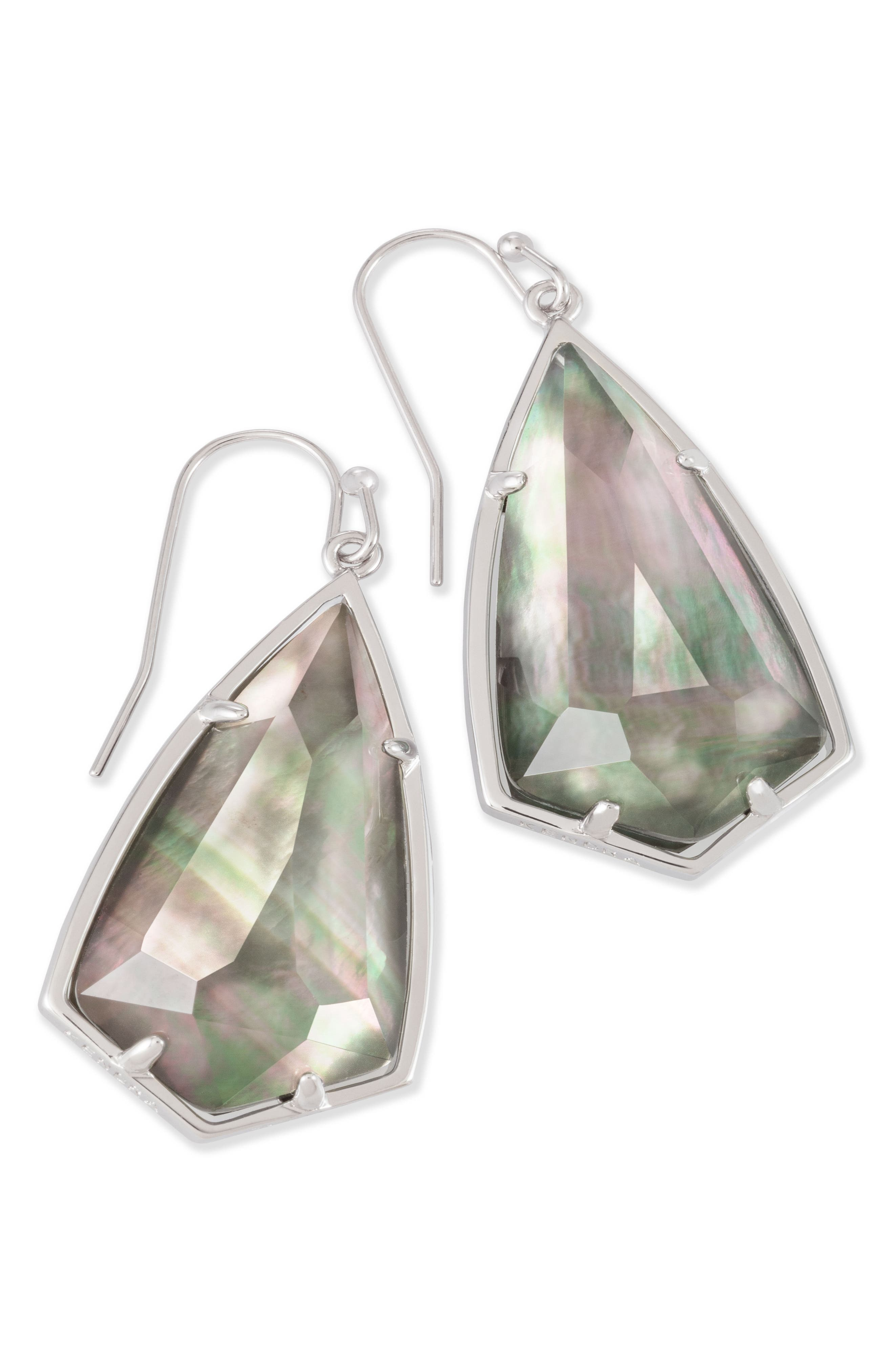 Carla Semiprecious Stone Drop Earrings,                             Alternate thumbnail 27, color,