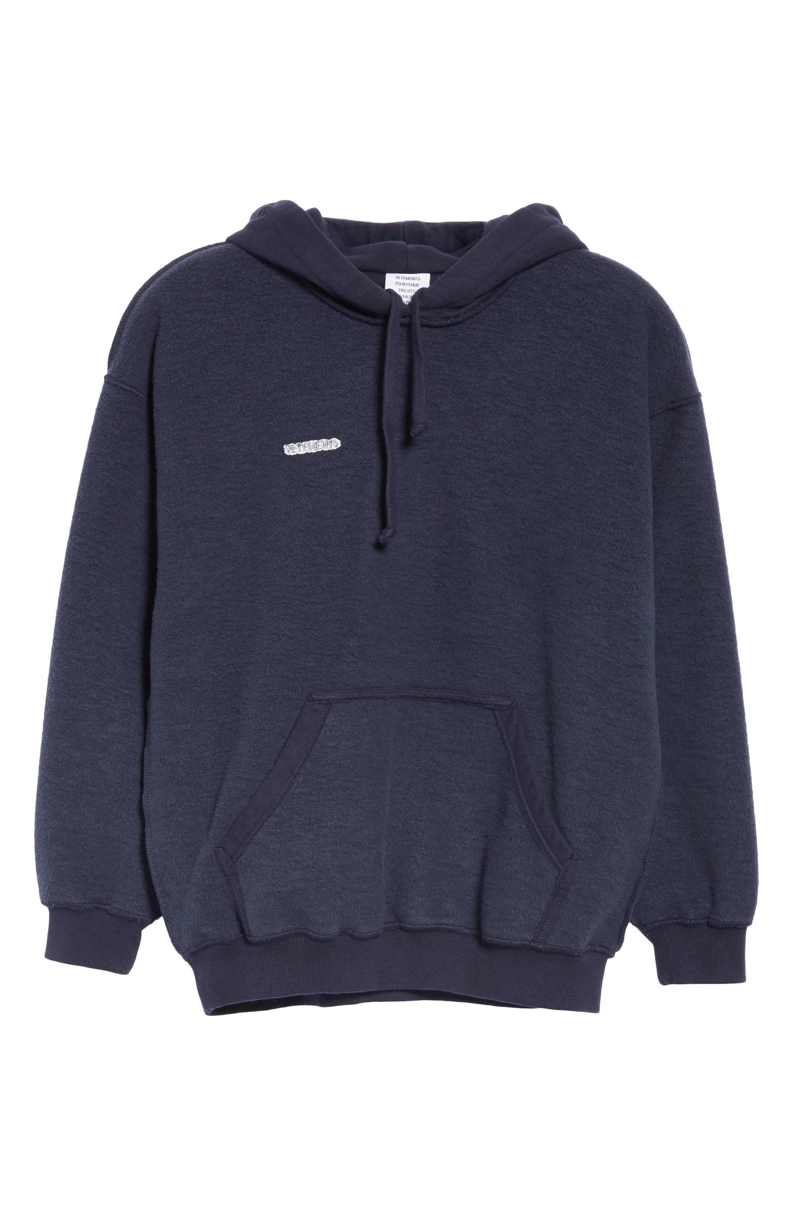 Inside-Out Hoodie,                             Alternate thumbnail 7, color,                             NAVY