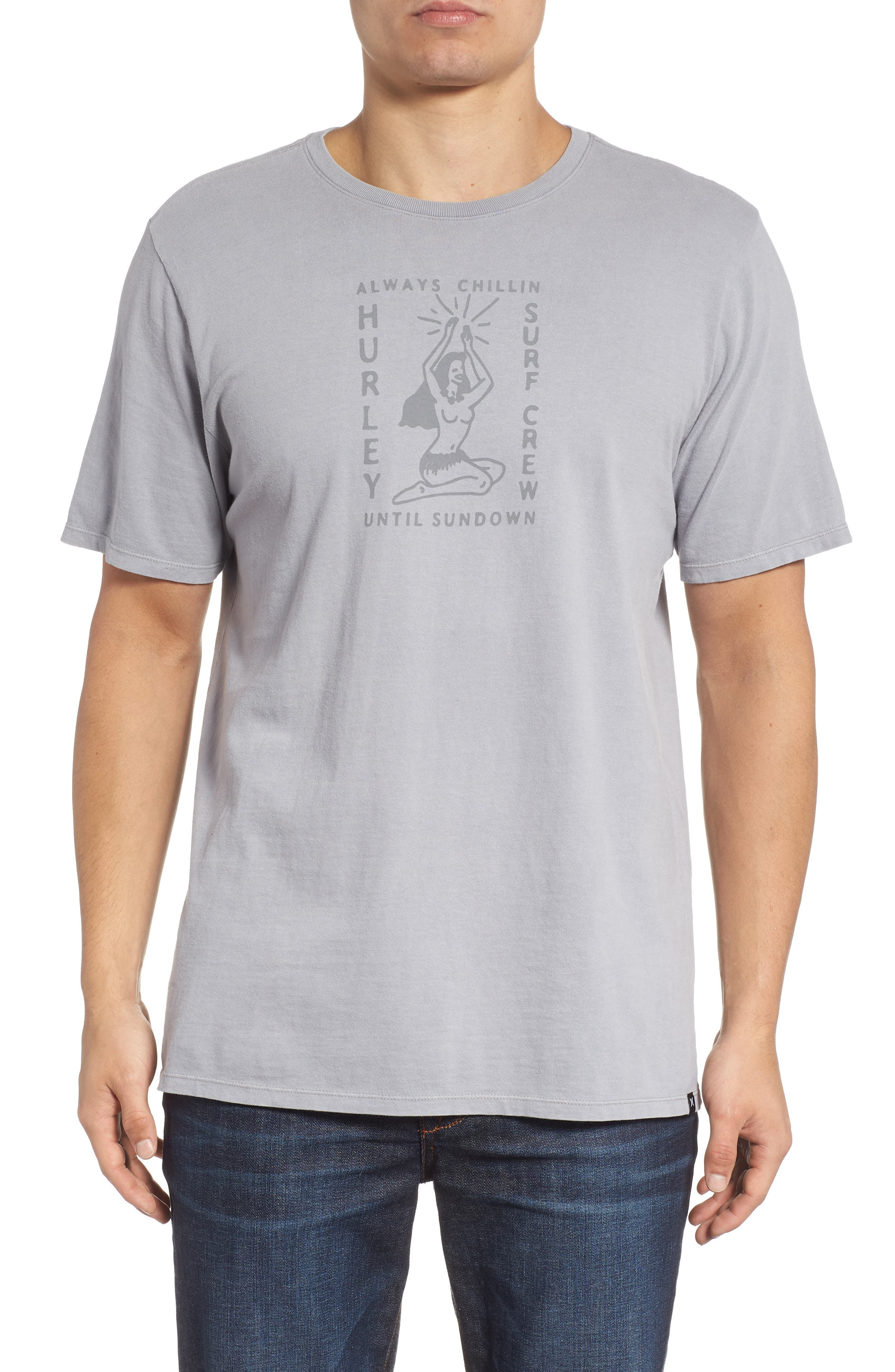 Sundown Summer Graphic T-Shirt,                             Main thumbnail 1, color,                             020