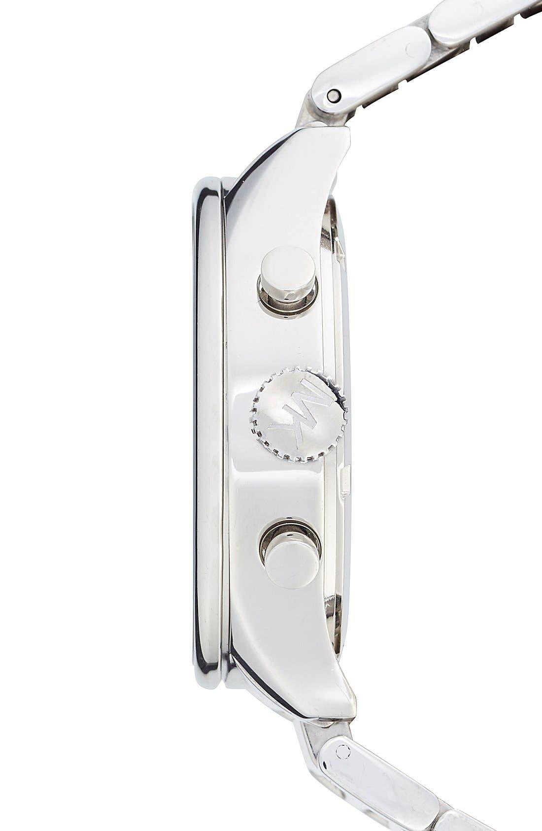 Michael Kors 'Bailey' Chronograph Bracelet Watch, 39mm,                             Alternate thumbnail 4, color,                             040
