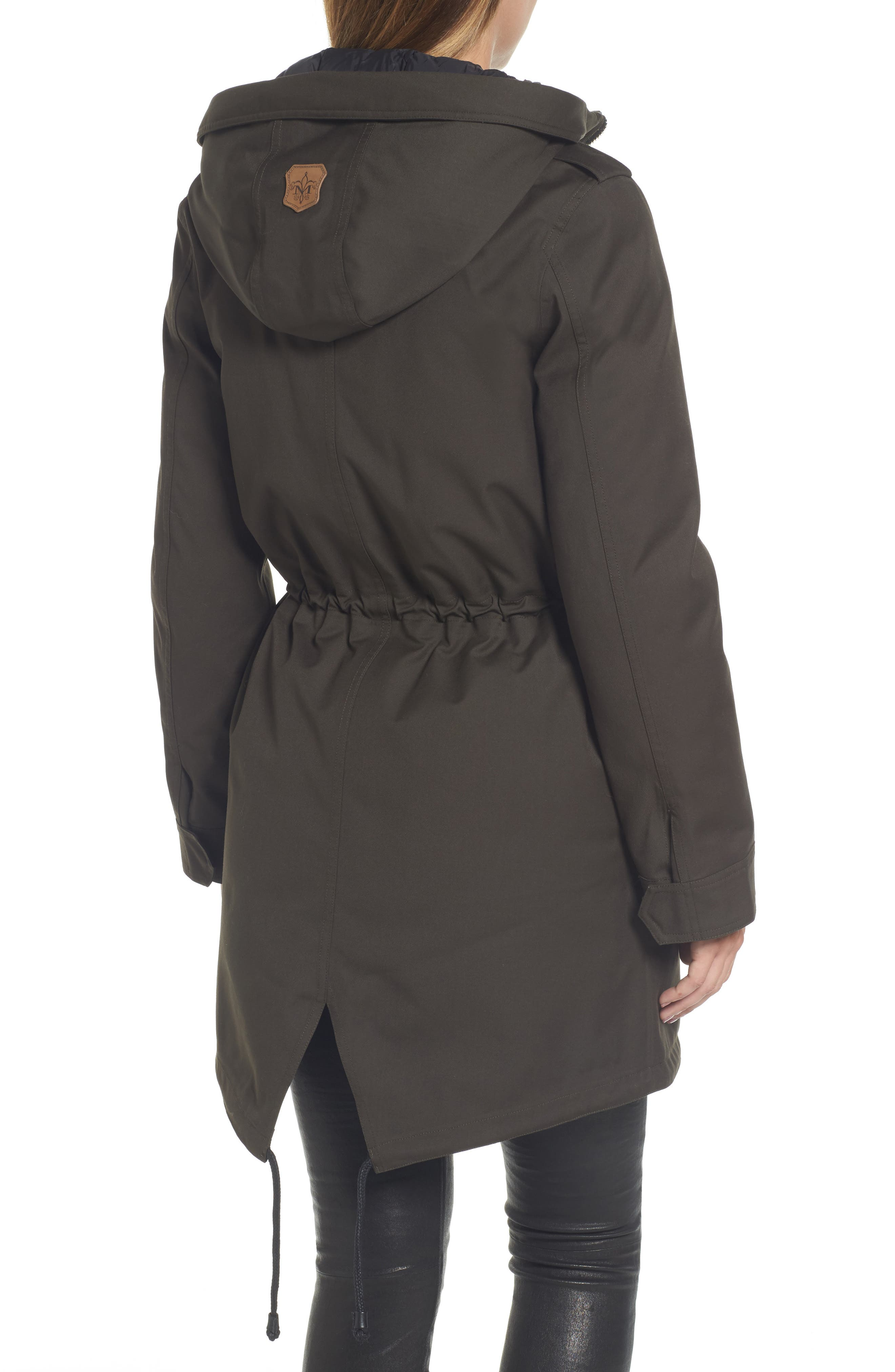 Rada-SP Hooded Raincoat with Removable Down Liner,                             Alternate thumbnail 2, color,                             355