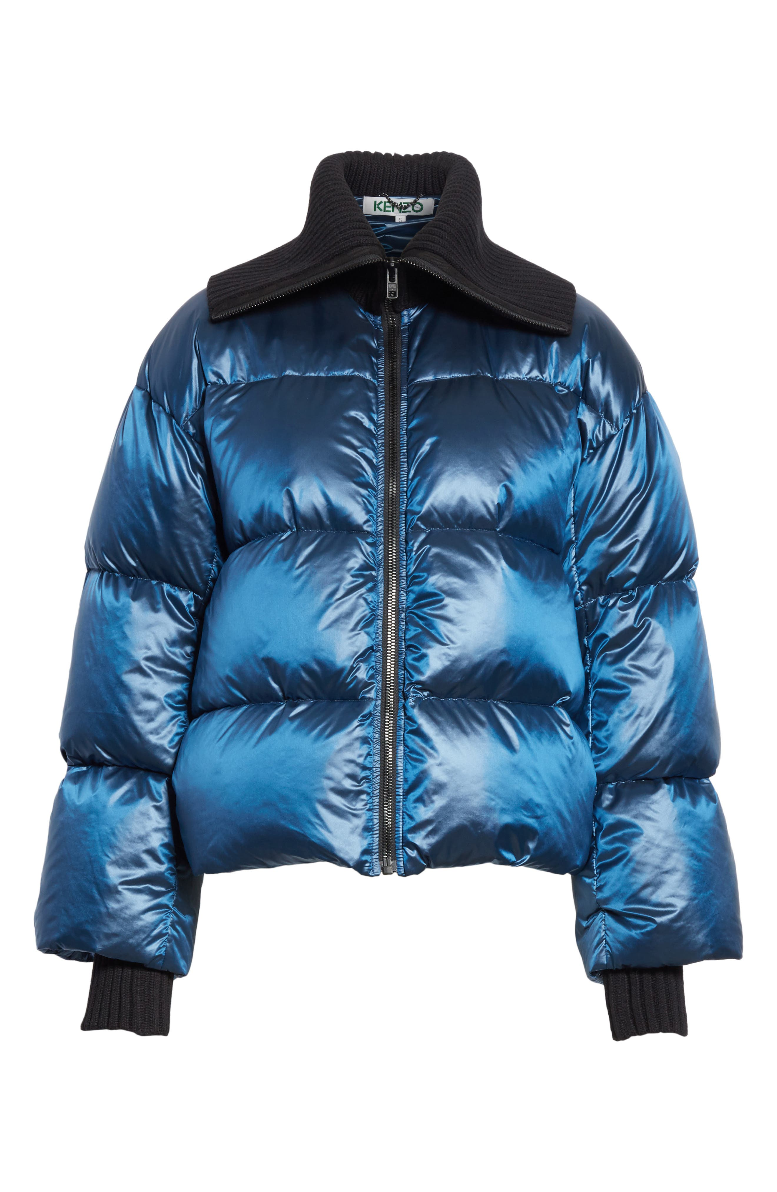 Quilted Down Bomber,                             Alternate thumbnail 5, color,                             402