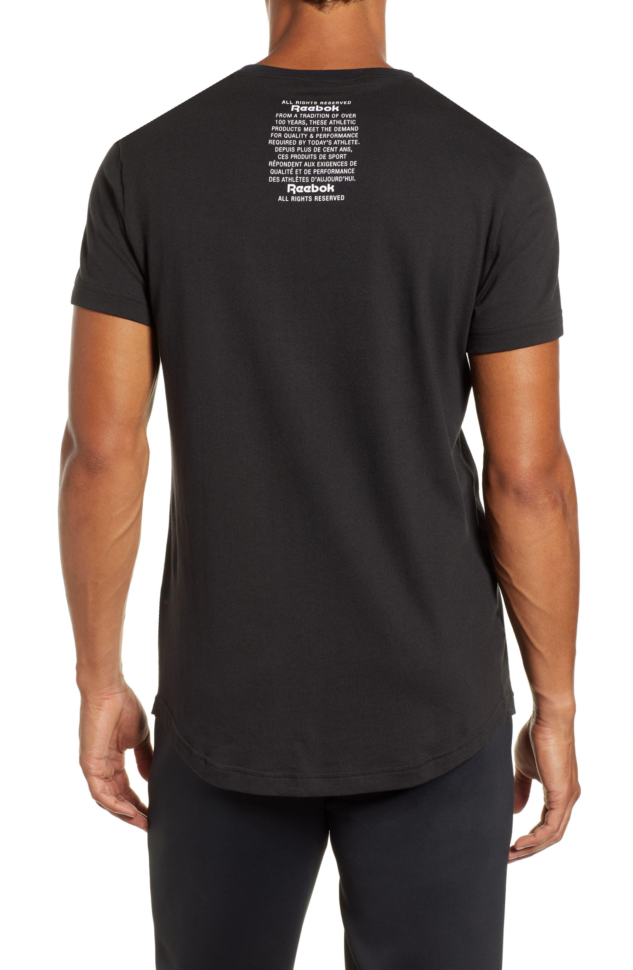 Longline Unisex T-Shirt,                             Alternate thumbnail 2, color,                             BLACK