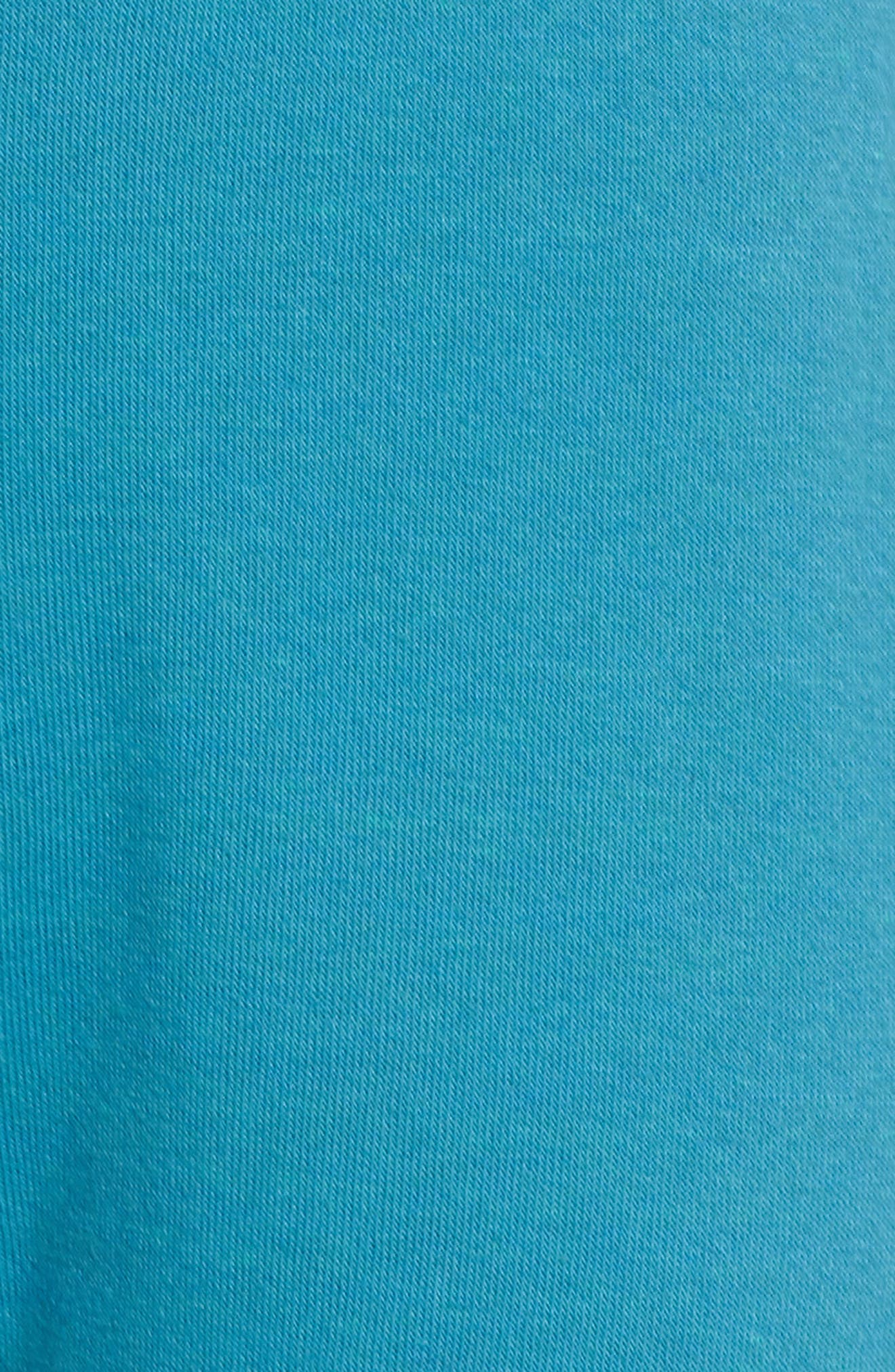 Faded Sweatpants,                             Alternate thumbnail 5, color,                             TEAL / VINTAGE NAVY