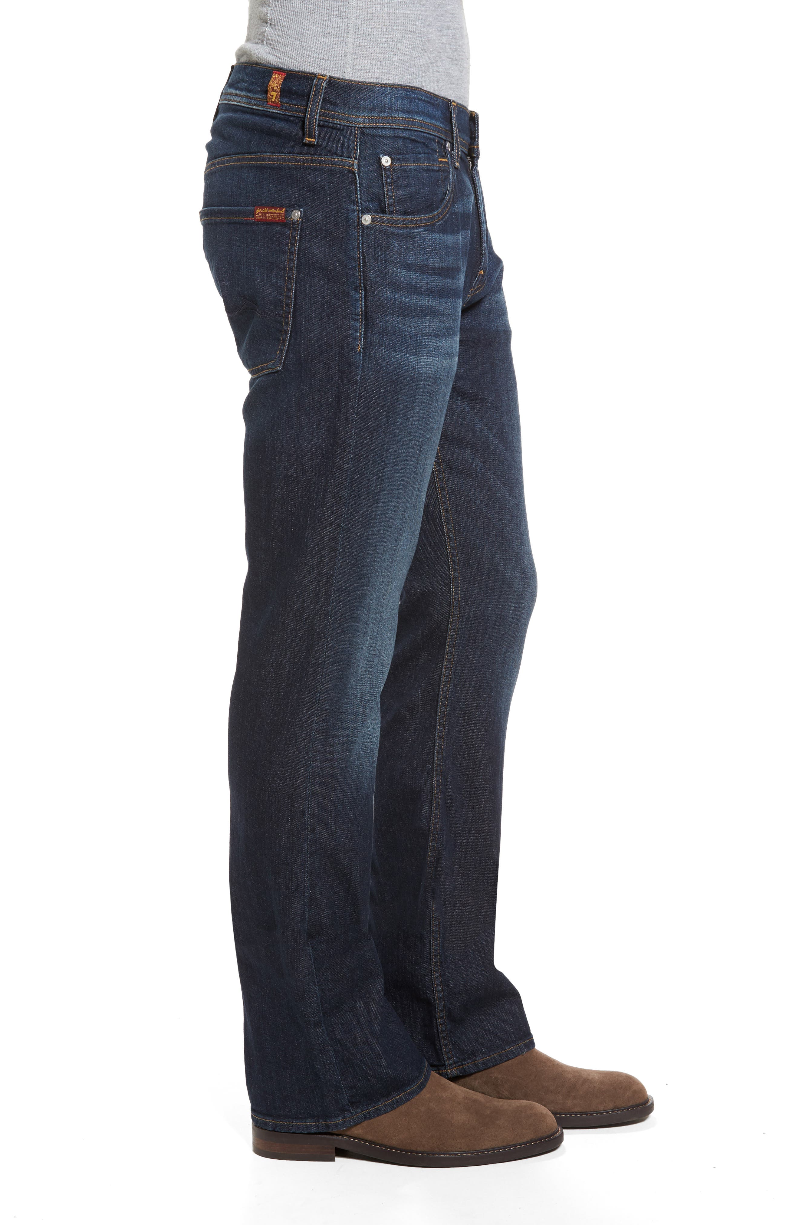 Brett Bootcut Jeans,                             Alternate thumbnail 3, color,                             402