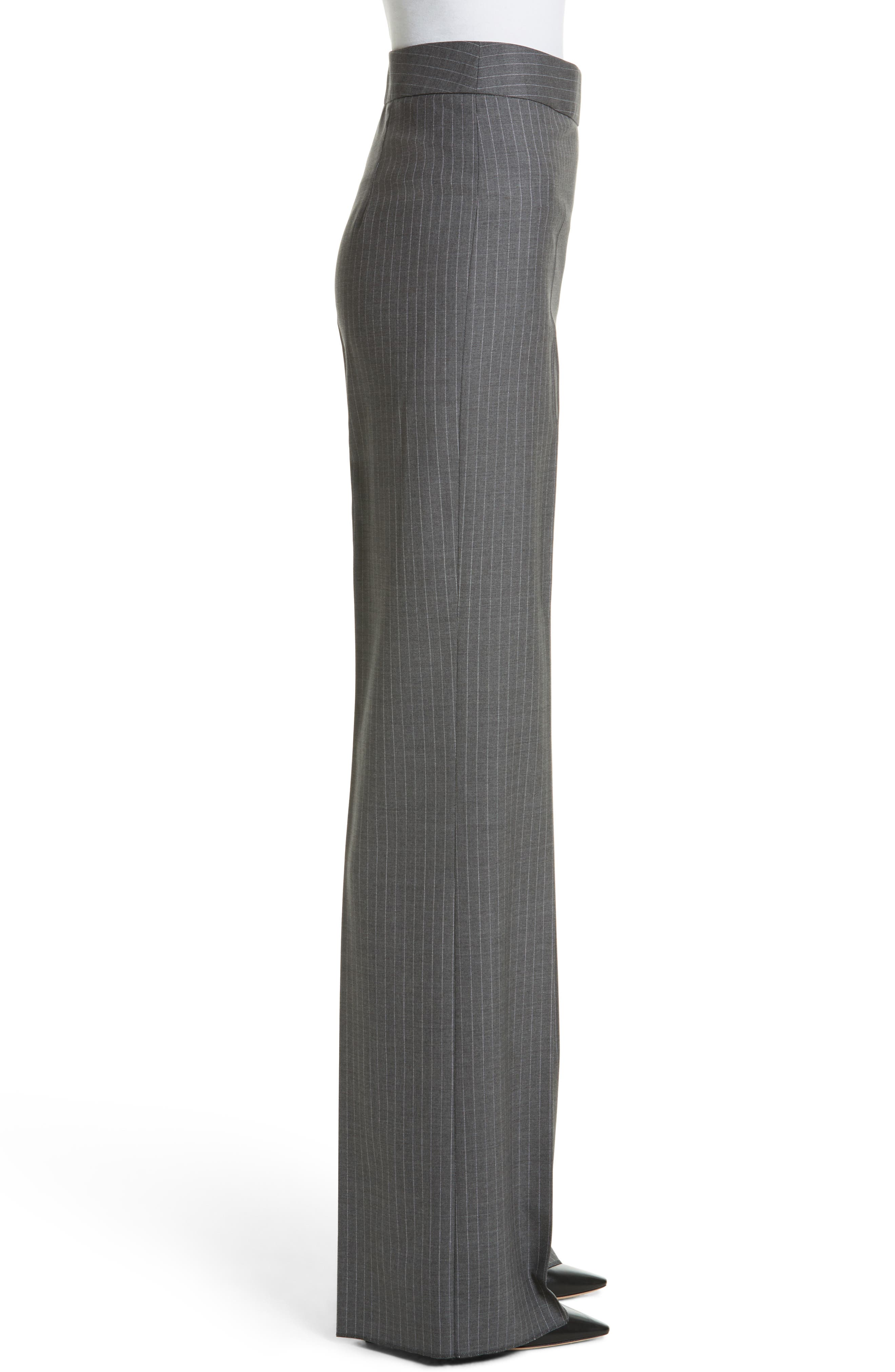 Garibo Stretch Wool Pinstripe Pants,                             Alternate thumbnail 3, color,                             034
