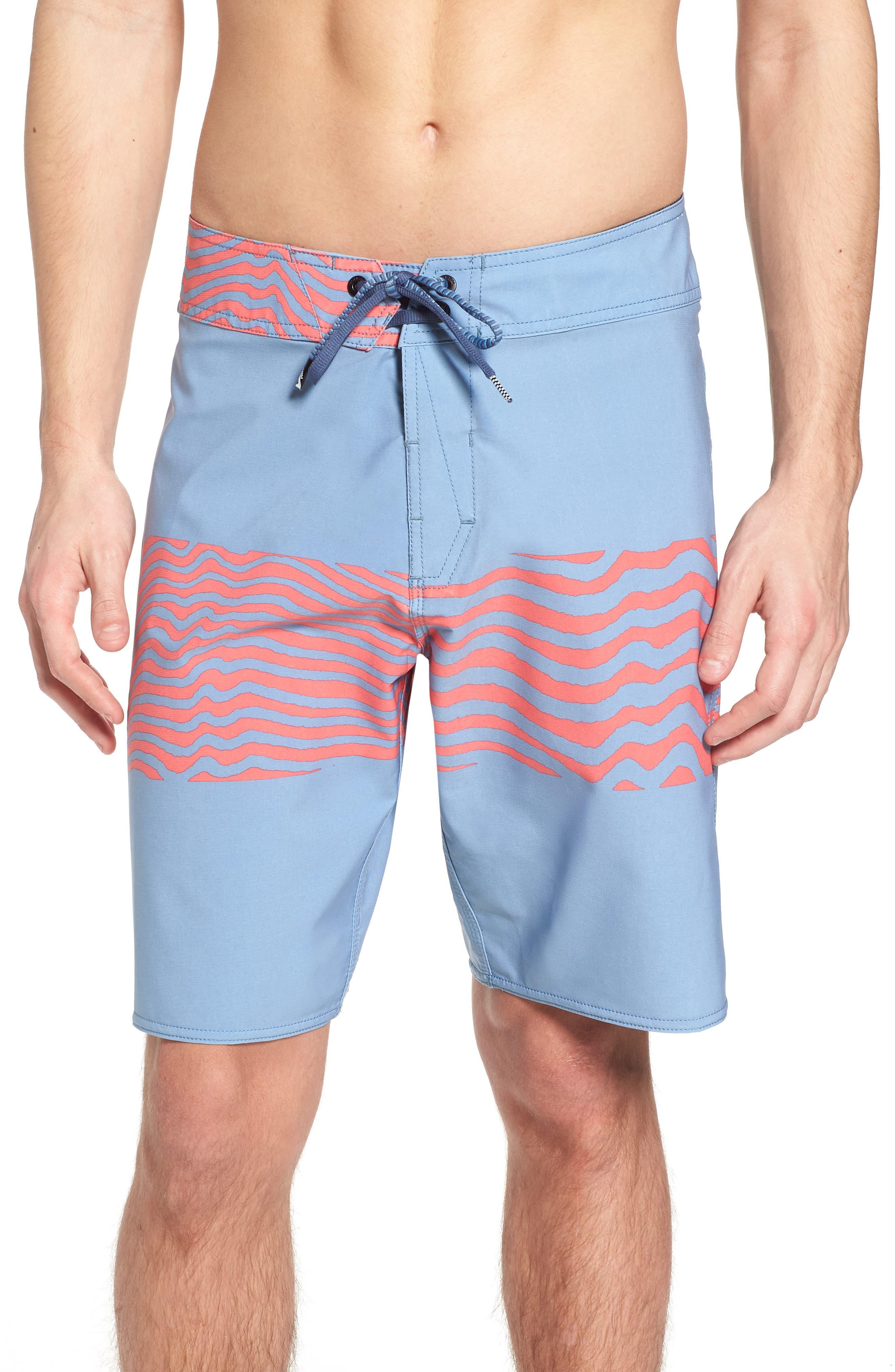 Macaw Faded Mod Board Shorts,                             Main thumbnail 1, color,                             499